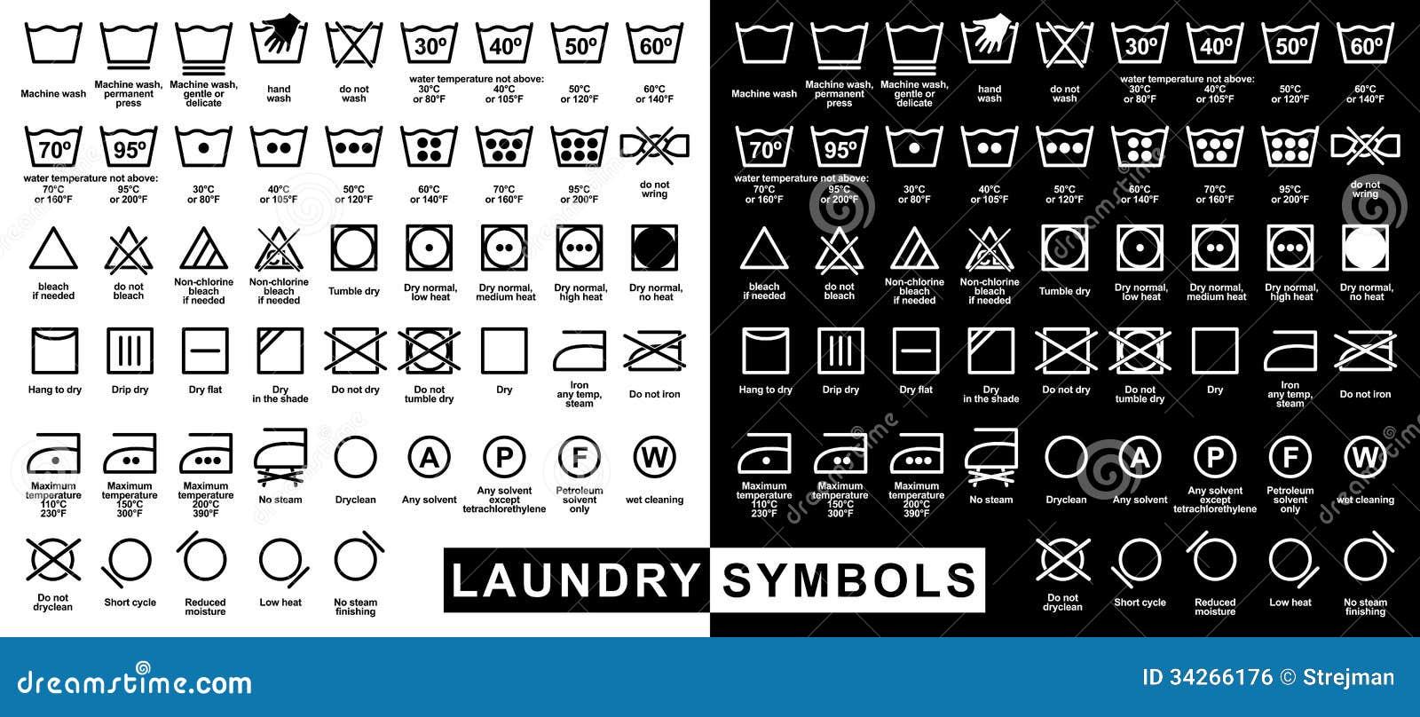 Icon set of laundry symbols stock vector illustration of cold icon set of laundry symbols cold cotton biocorpaavc Images