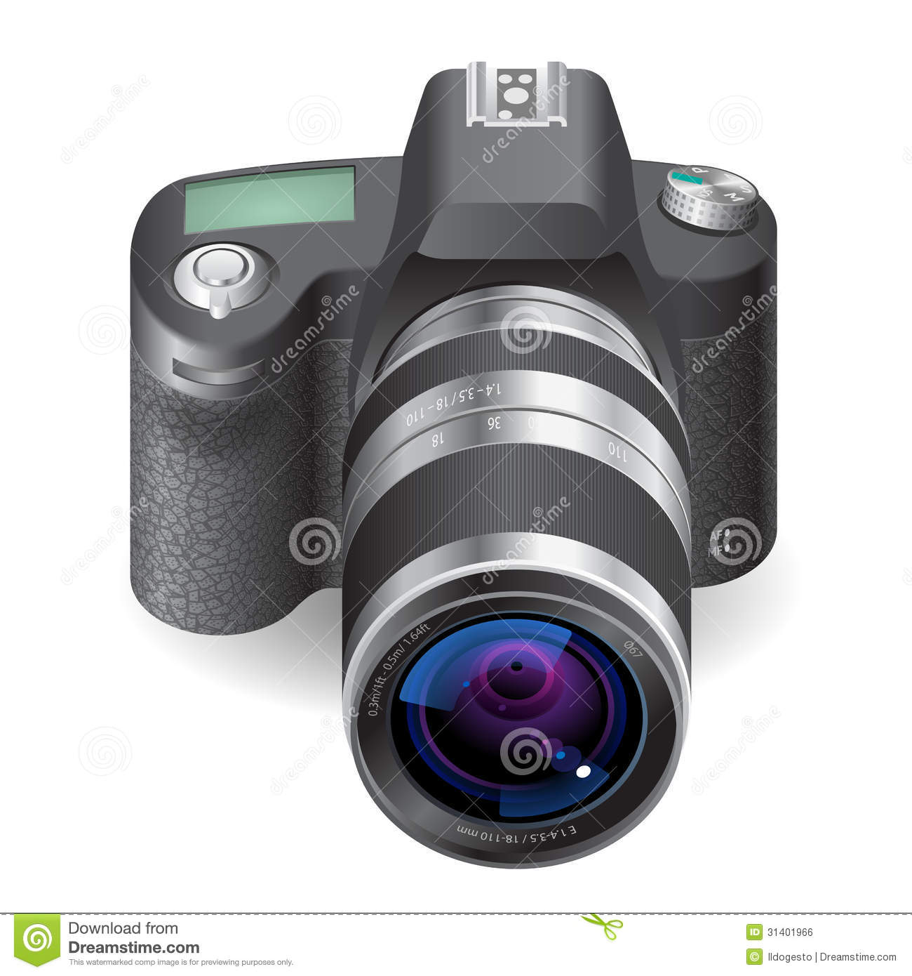 Icon For SLR Camera Royalty Free Stock Image - Image: 31401966