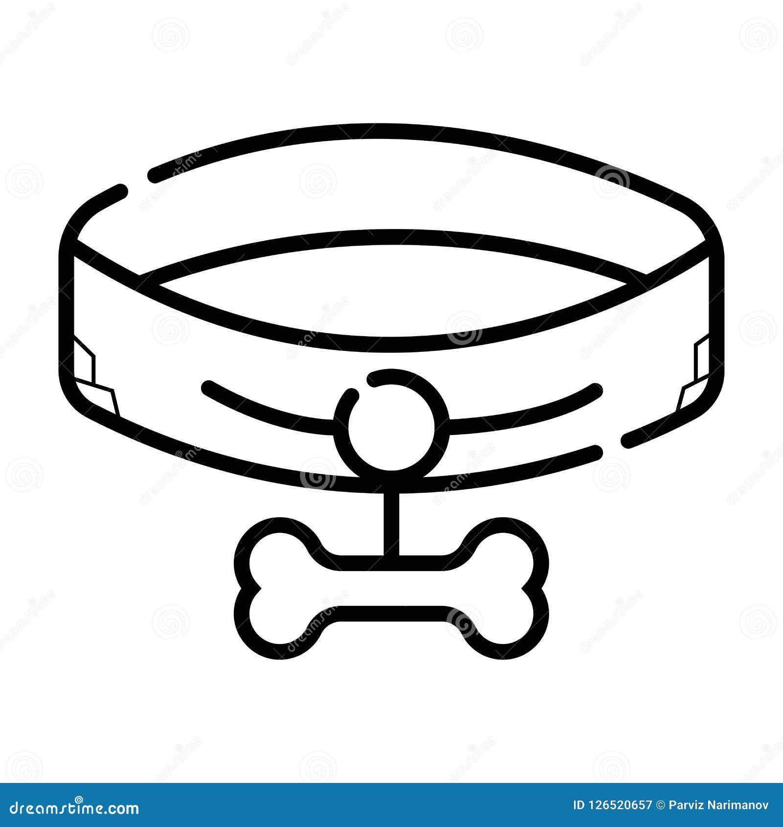 Icona del collare di cane