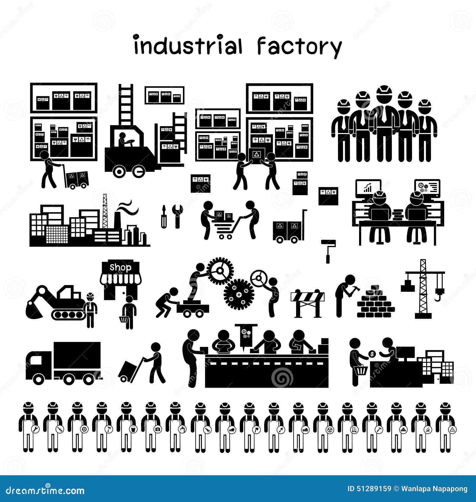 Icona del distributore commerciale e del produttore