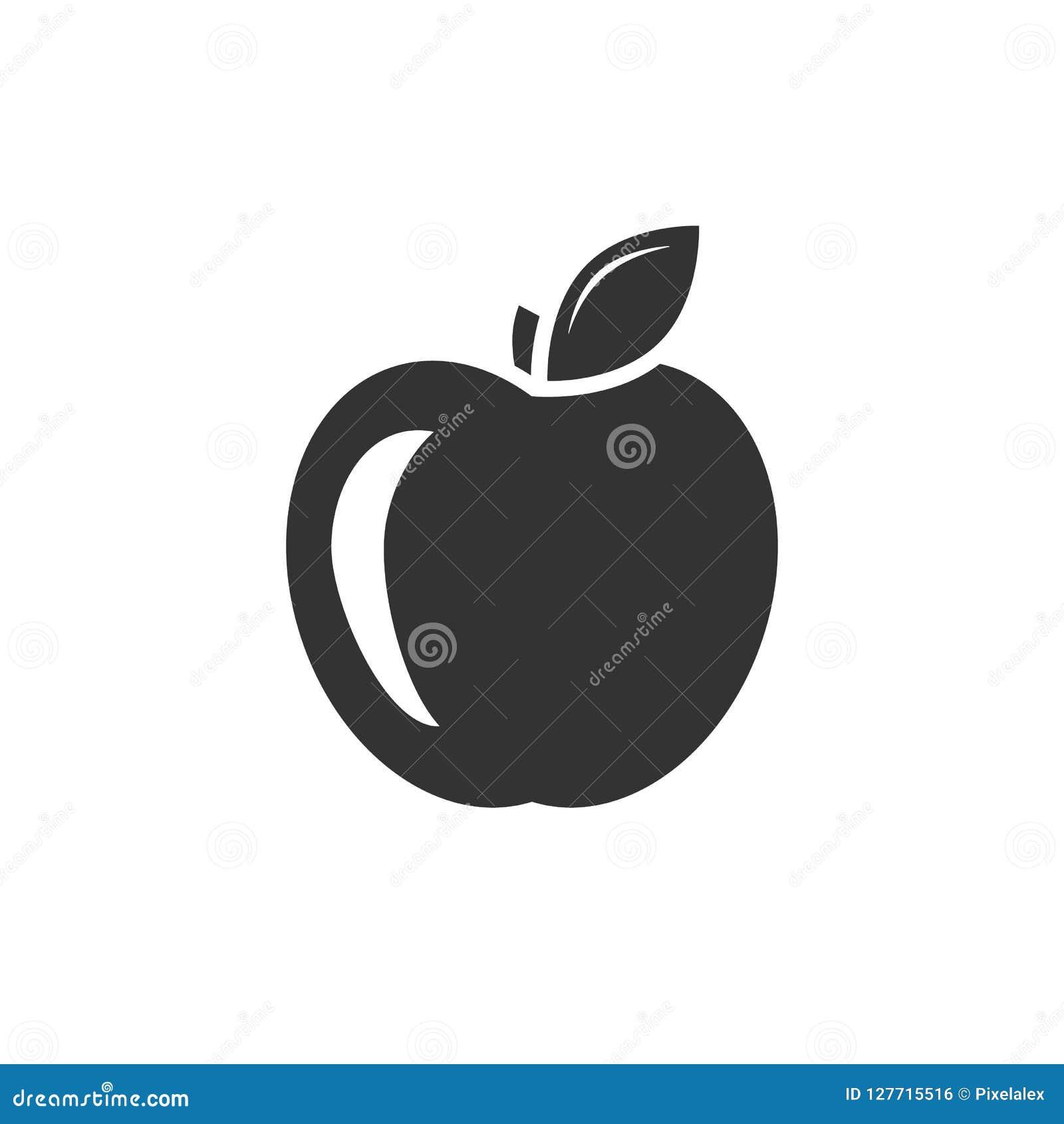 Icona del nero di Apple