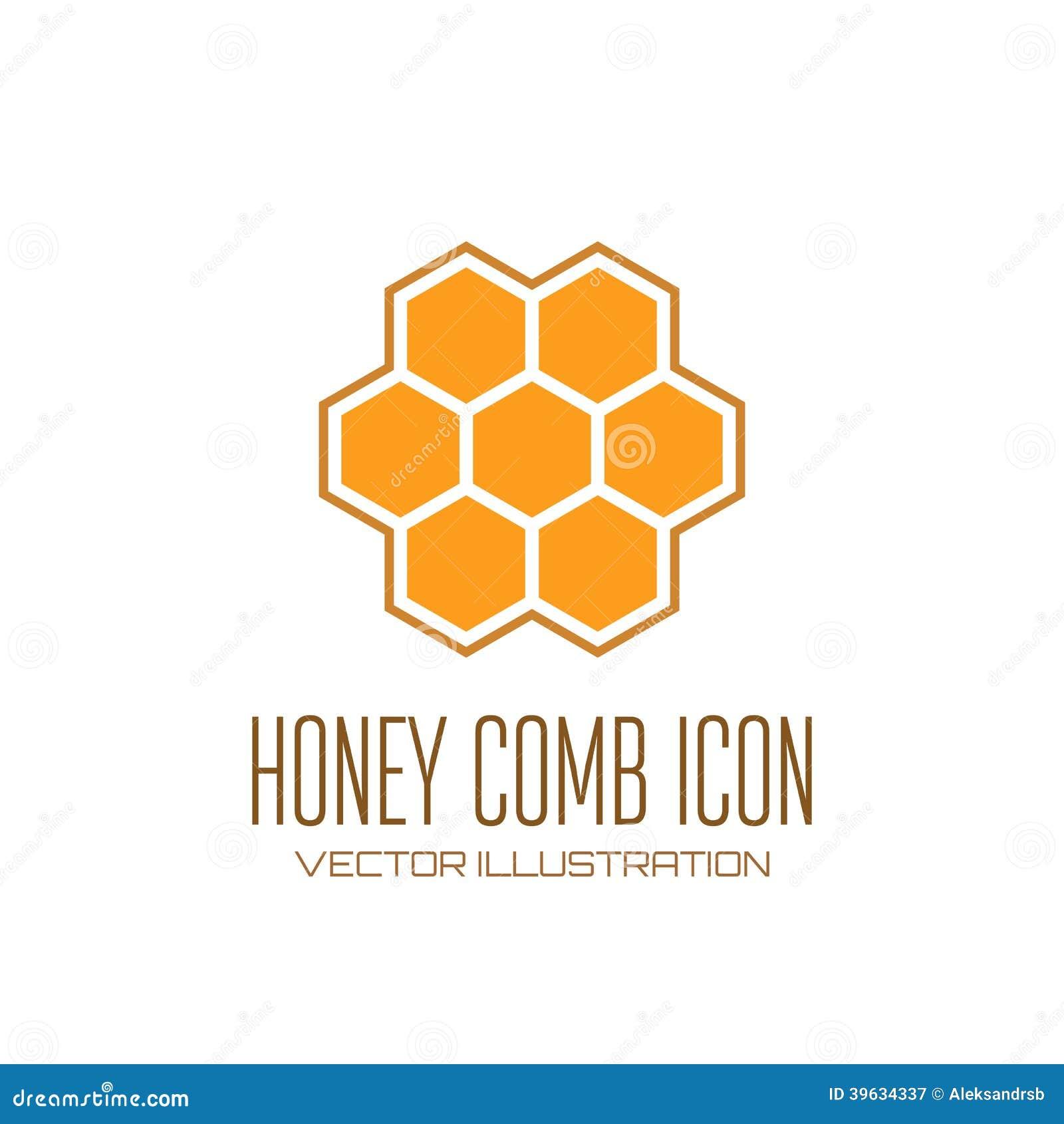 Icona del pettine del miele