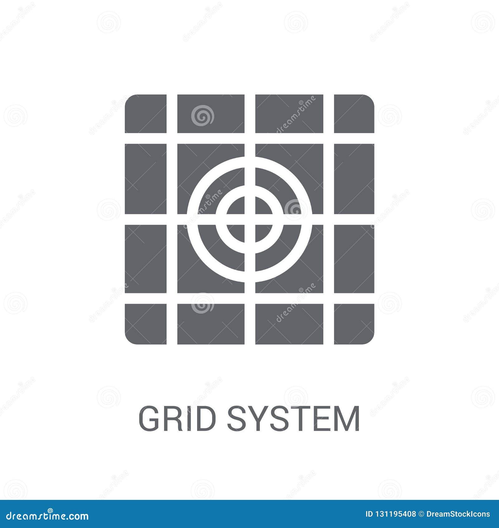 Icona del sistema a griglia