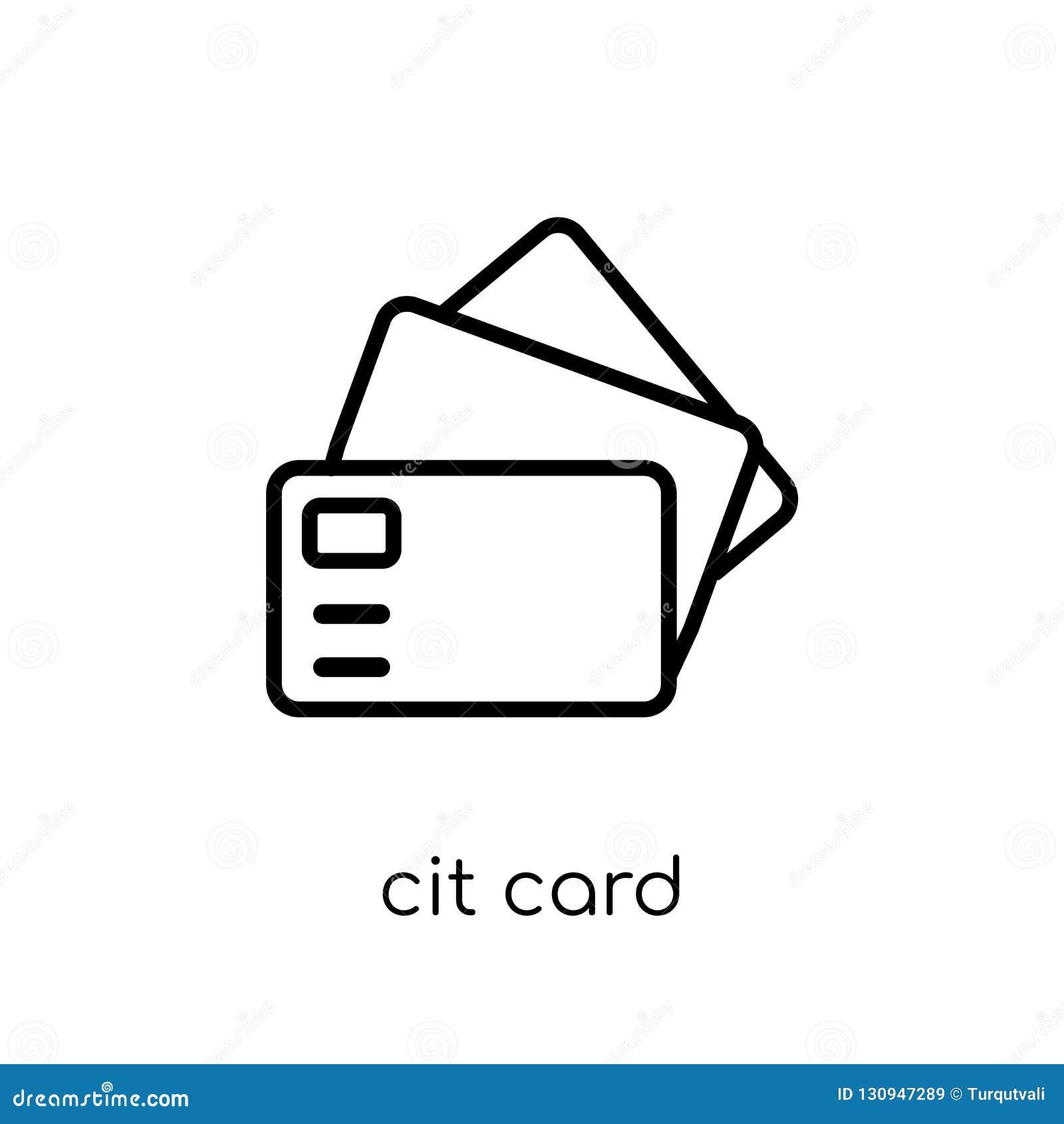 Icona della carta di credito dalla raccolta