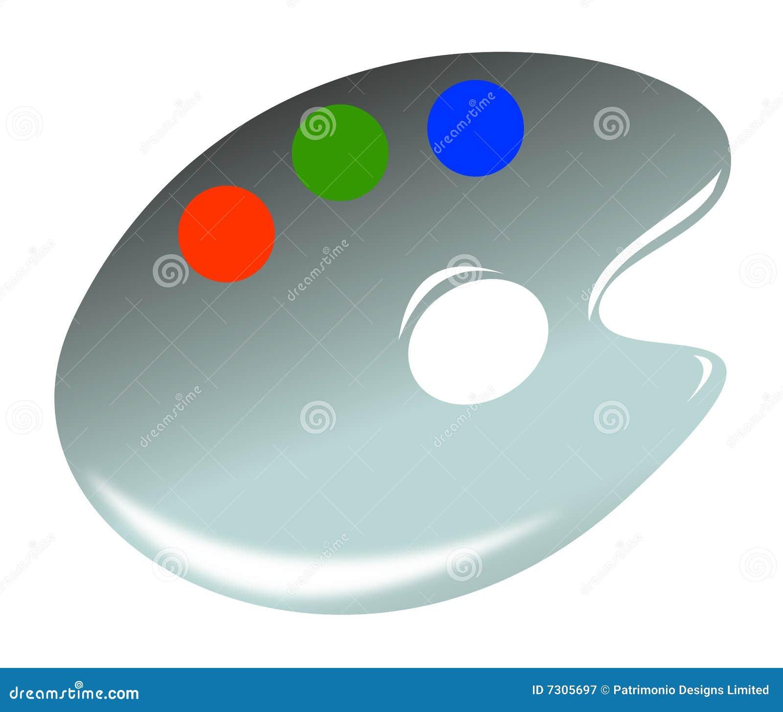 Icona della gamma di colori