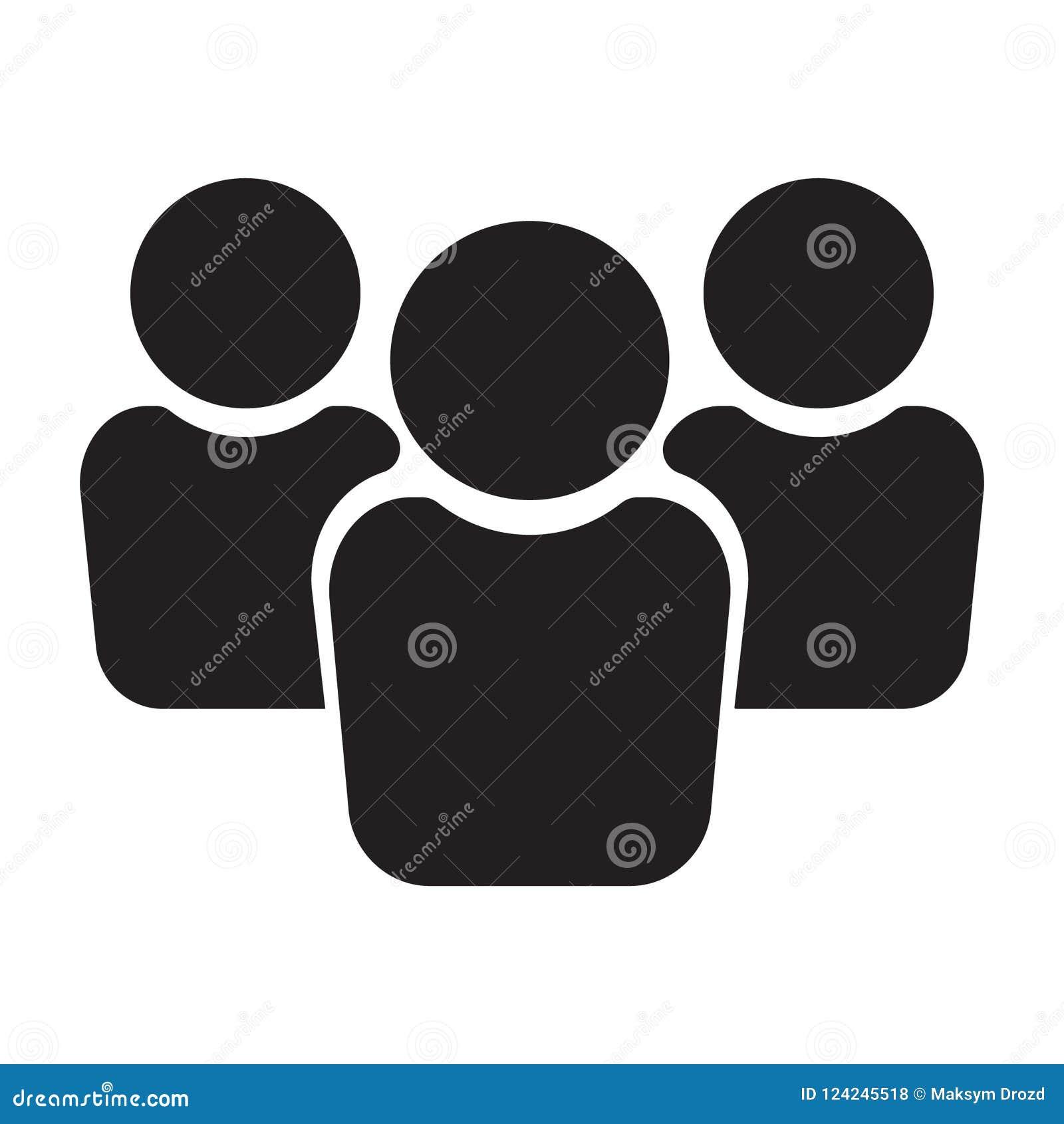 Icona della gente, icona del gruppo, icona del gruppo