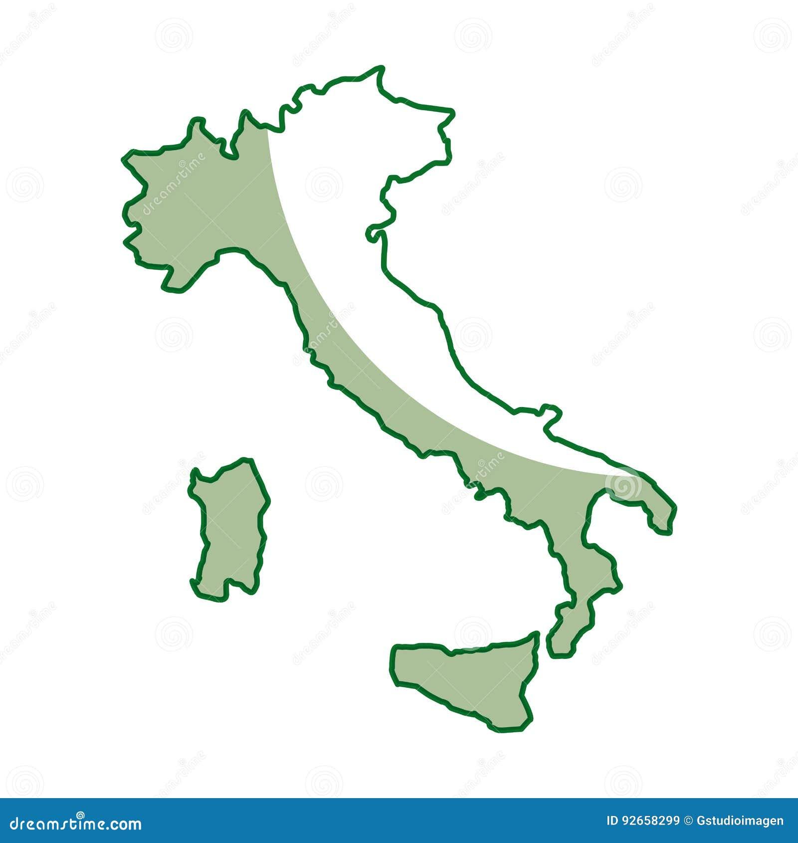 Italia Cartina Vettoriale.Icona Della Mappa Dell Italia Illustrazione Vettoriale Illustrazione Di Disegno Italiano 92658299