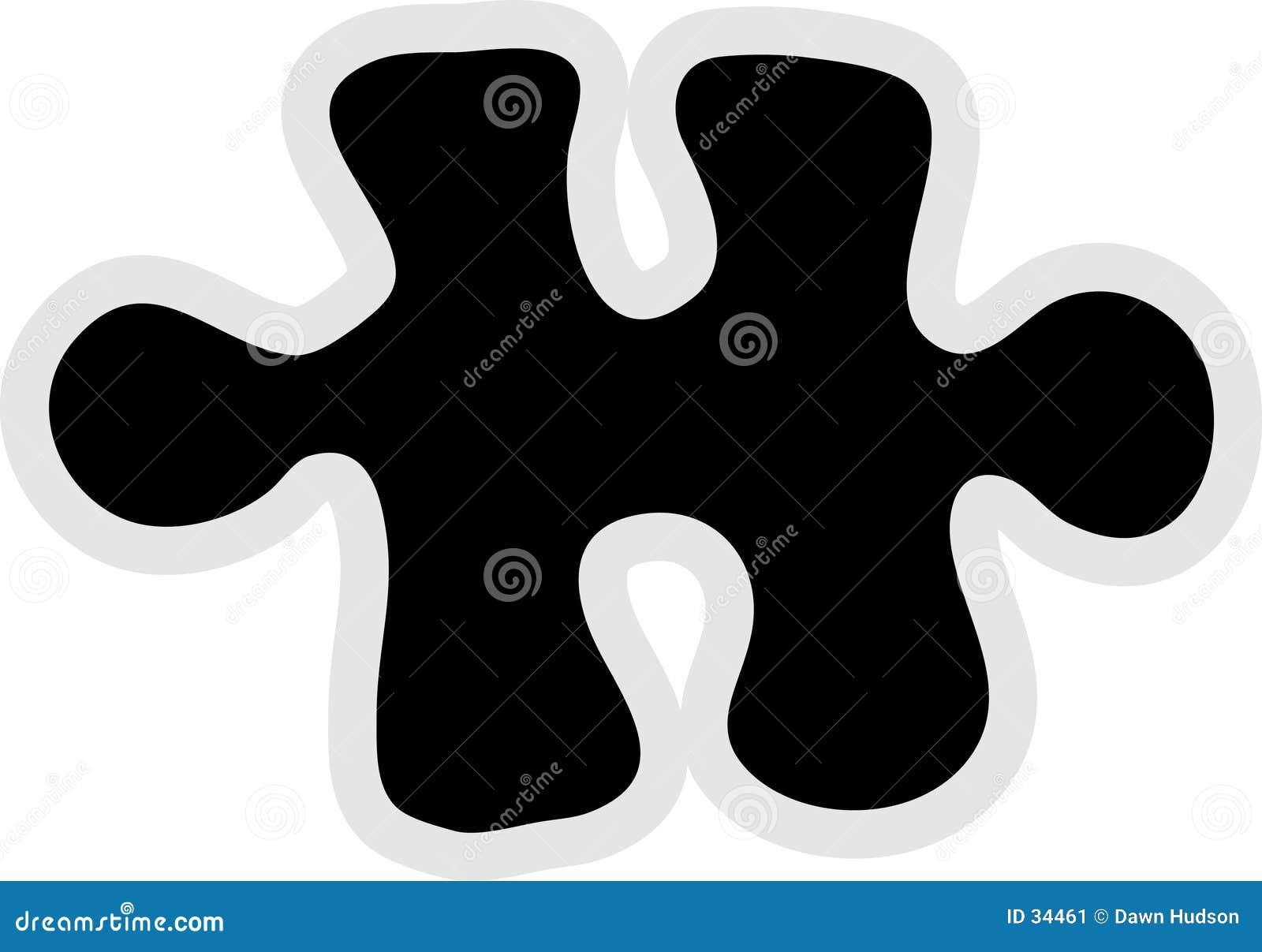 Icona della parte del puzzle