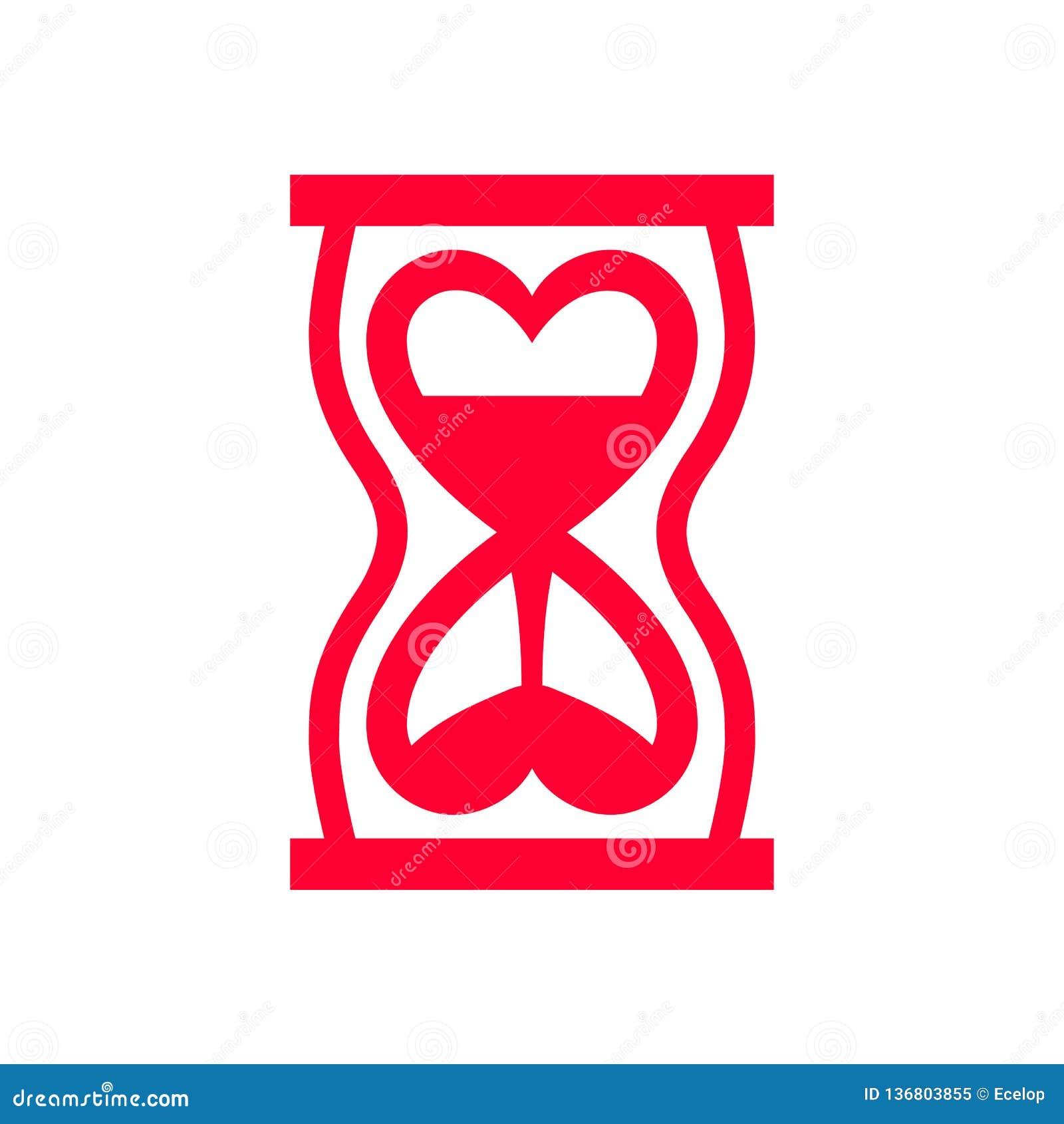 Icona di amore o segno di San Valentino progettato per la celebrazione