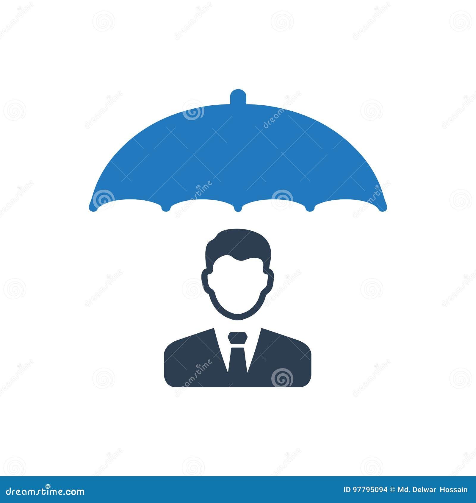 Icona di assicurazione in caso di morte dei dirigenti