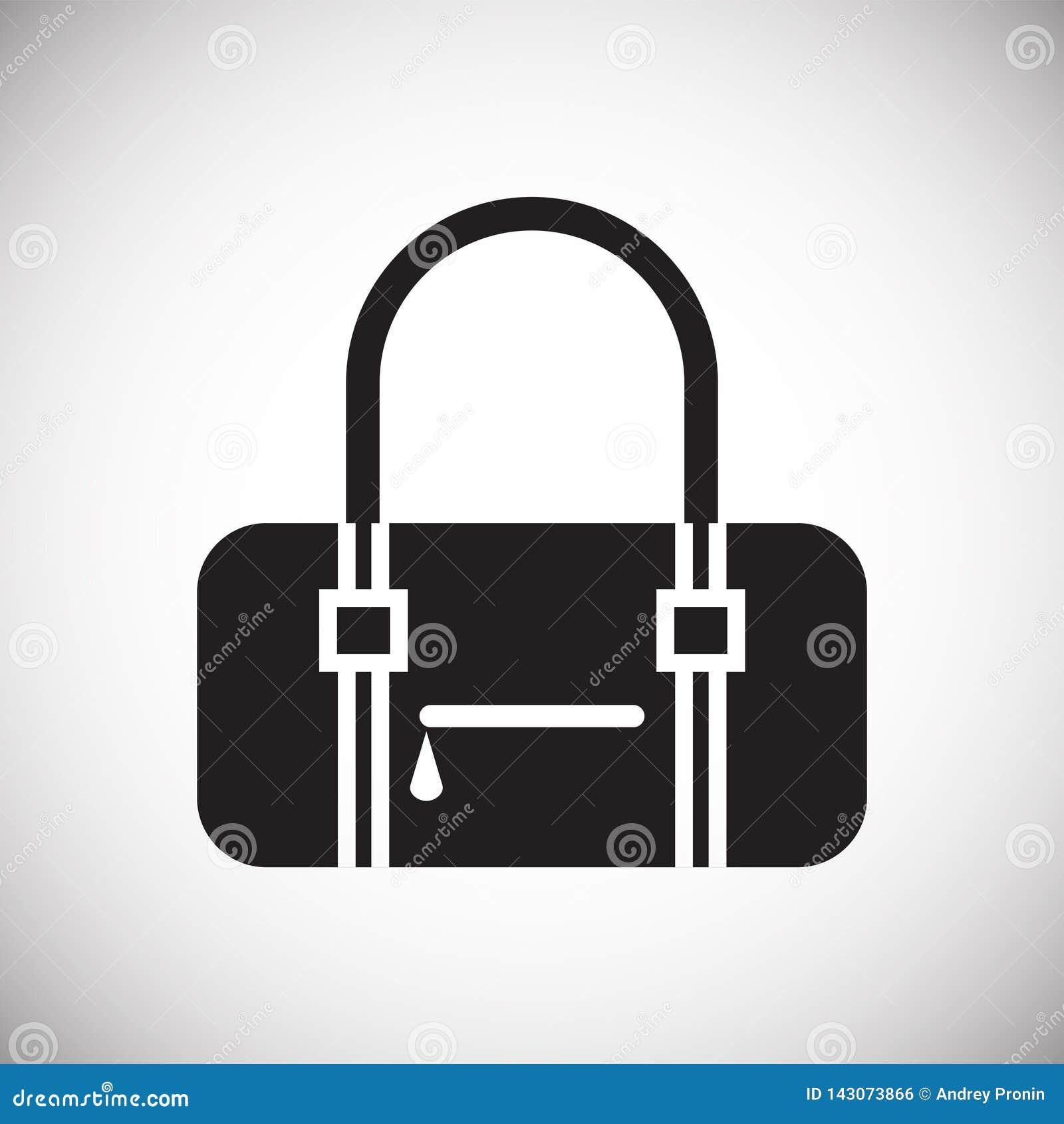 Icona di caso su fondo per il grafico ed il web design Segno semplice di vettore Simbolo di concetto di Internet per il bottone d