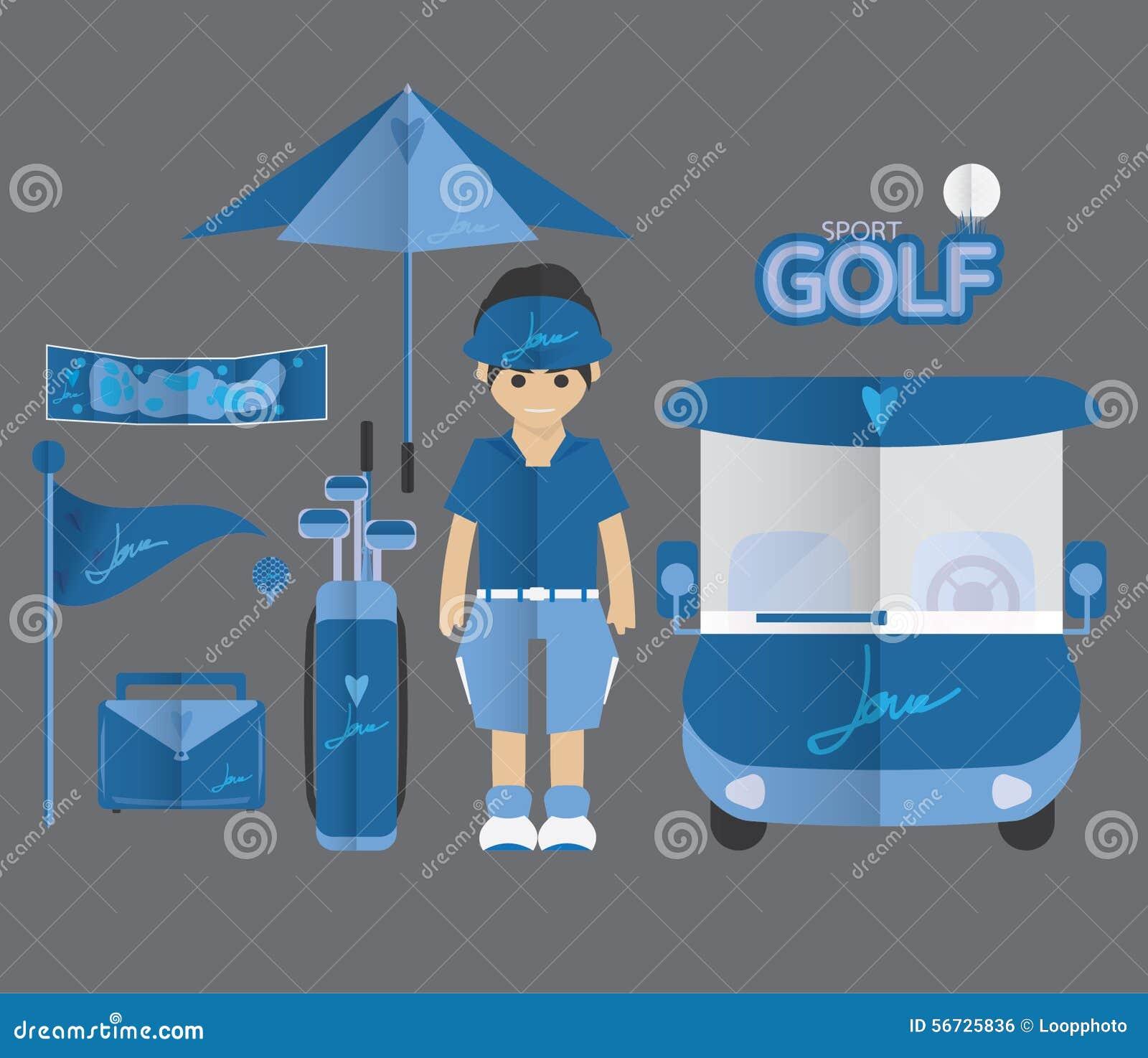 Icona di golf