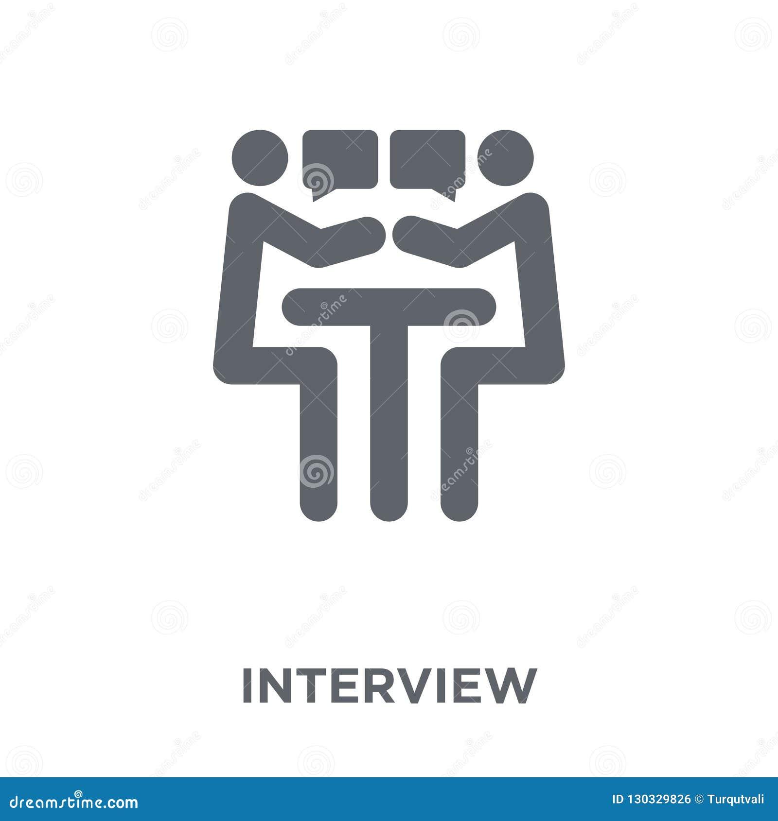 Icona di intervista dalla raccolta delle risorse umane