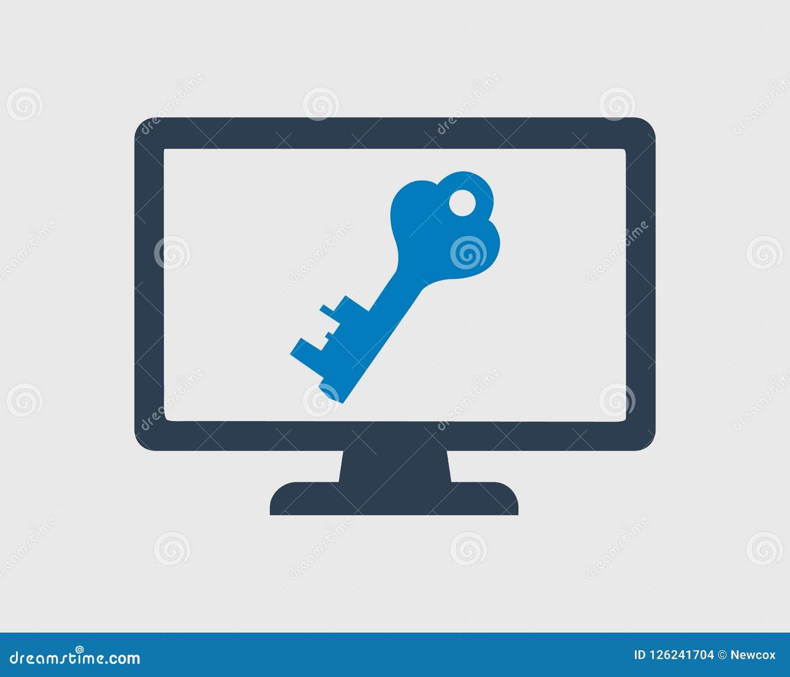 Icona di sicurezza informatica