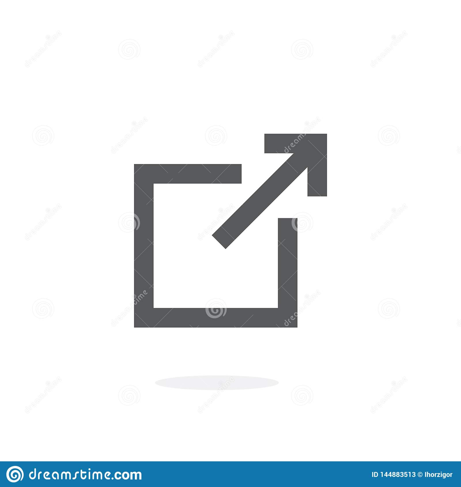 Icona di vettore di collegamento