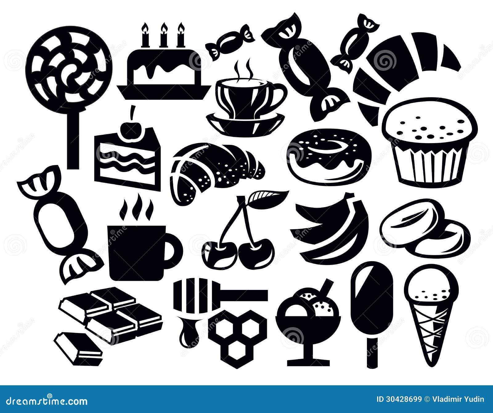Icona dolce illustrazione vettoriale illustrazione di for Immagini vector