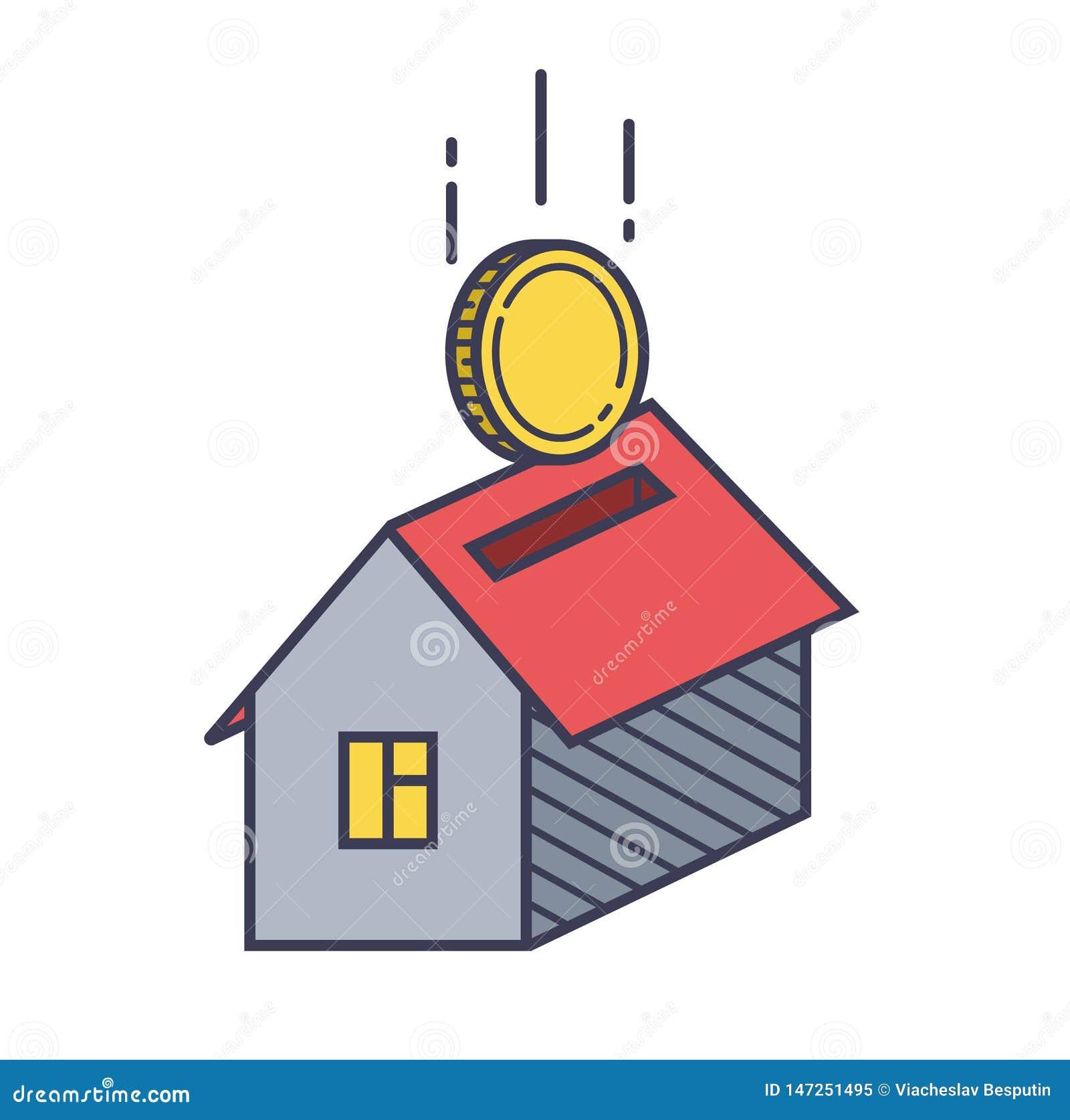 Icona e moneta della Camera
