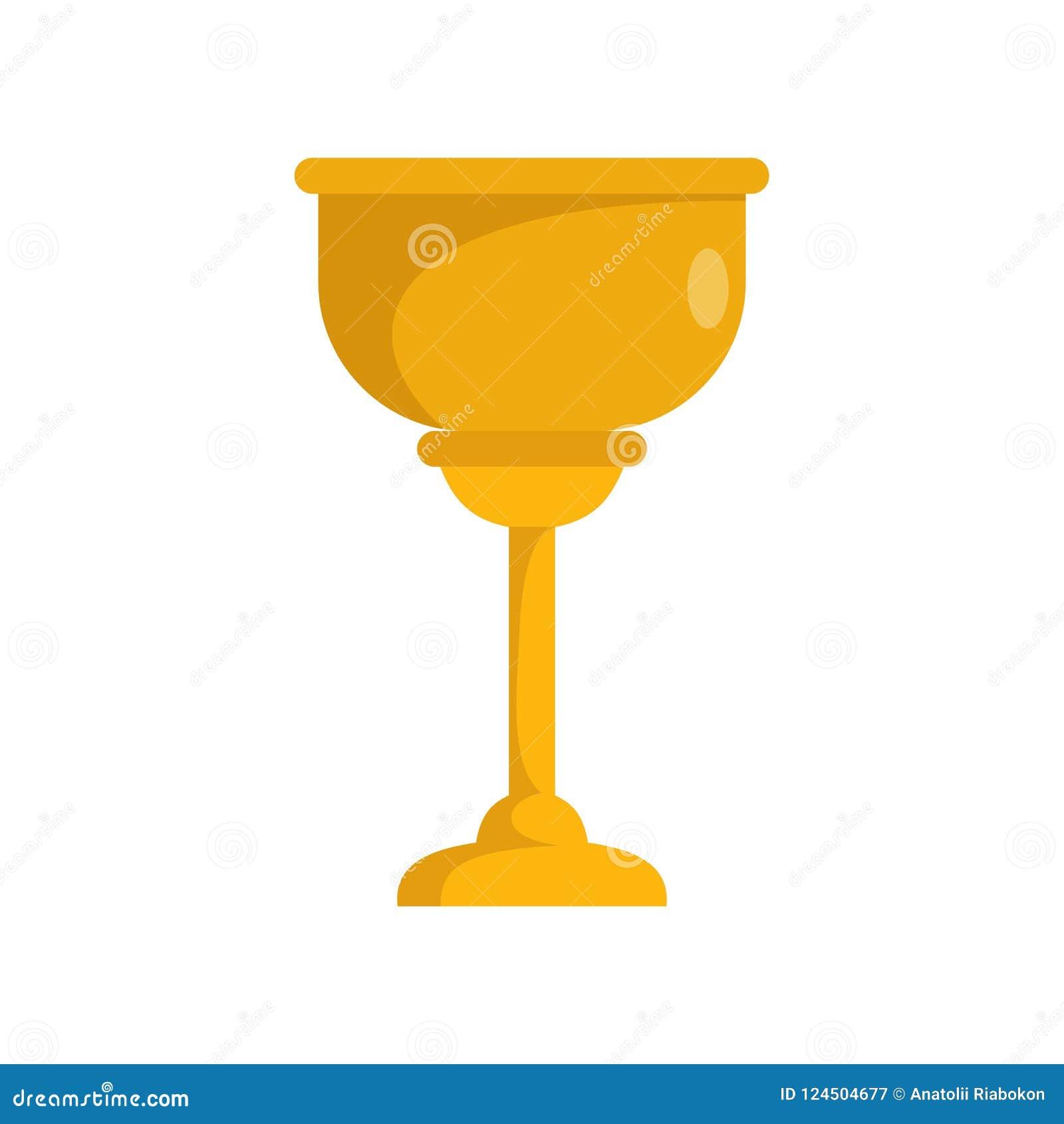 Icona ebrea della tazza dell oro, stile piano