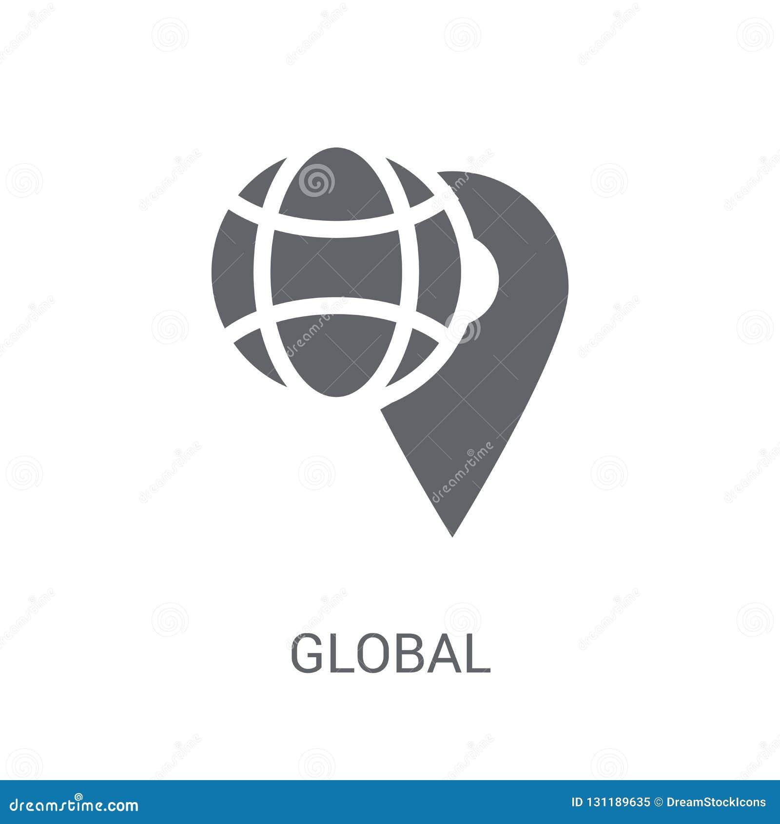 Icona globale di distribuzione