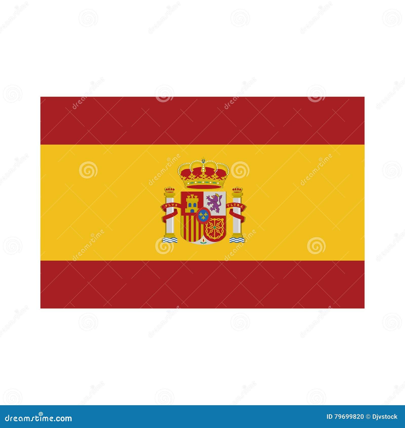 Icona Isolata Bandiera Della Spagna Illustrazione Vettoriale Illustrazione Di Figura Turismo 79699820
