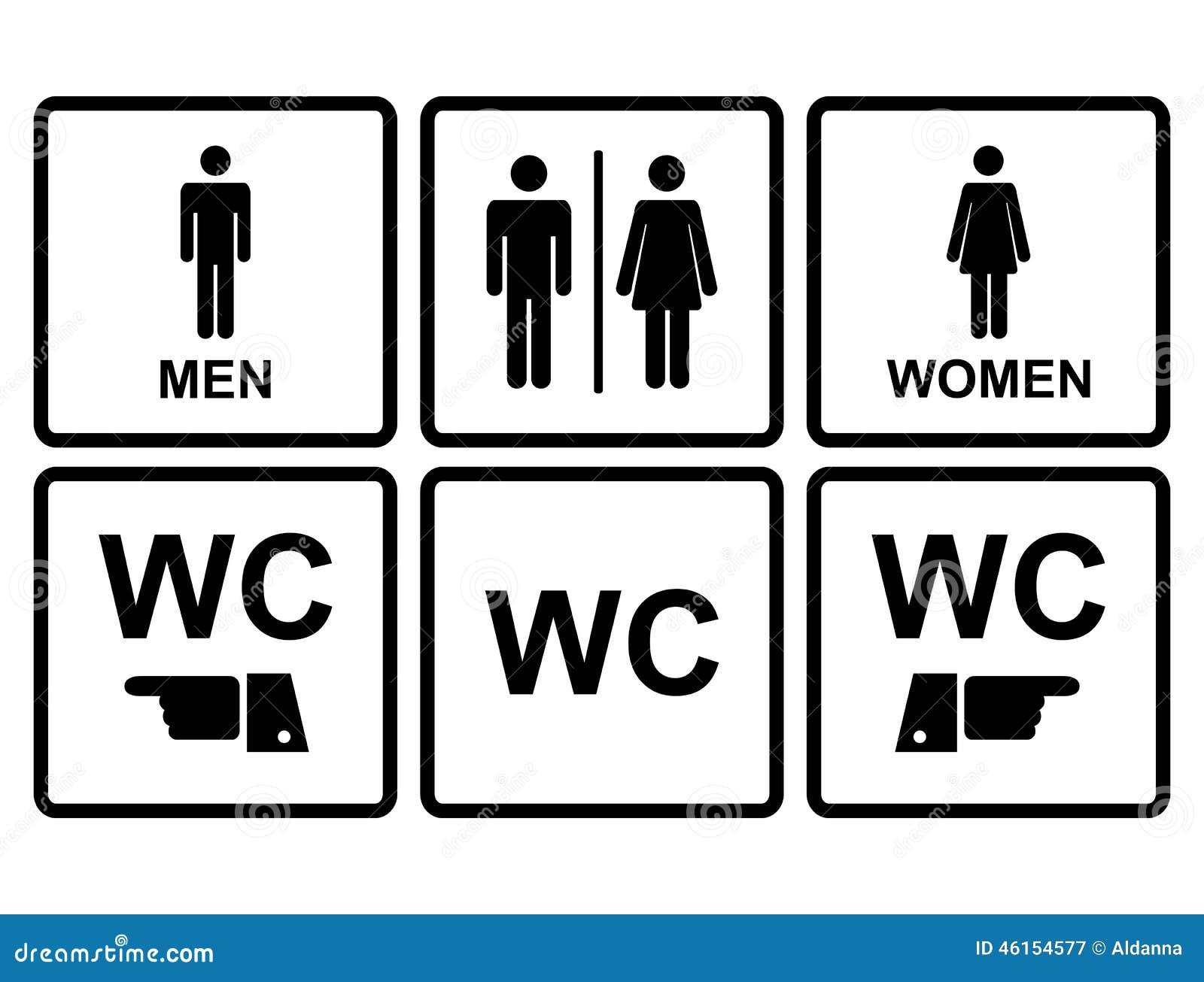 clipart wc uomini - photo #16
