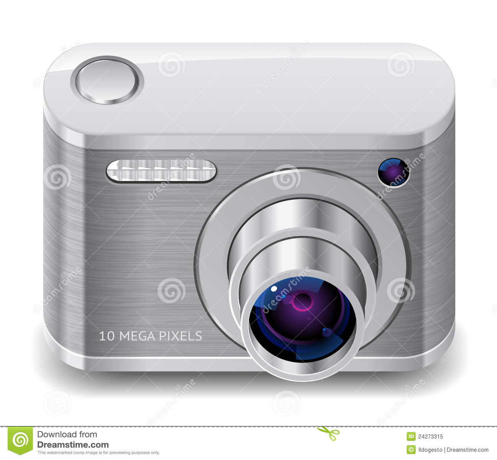 Icona per la macchina fotografica compatta della foto for Macchina fotografica compatta
