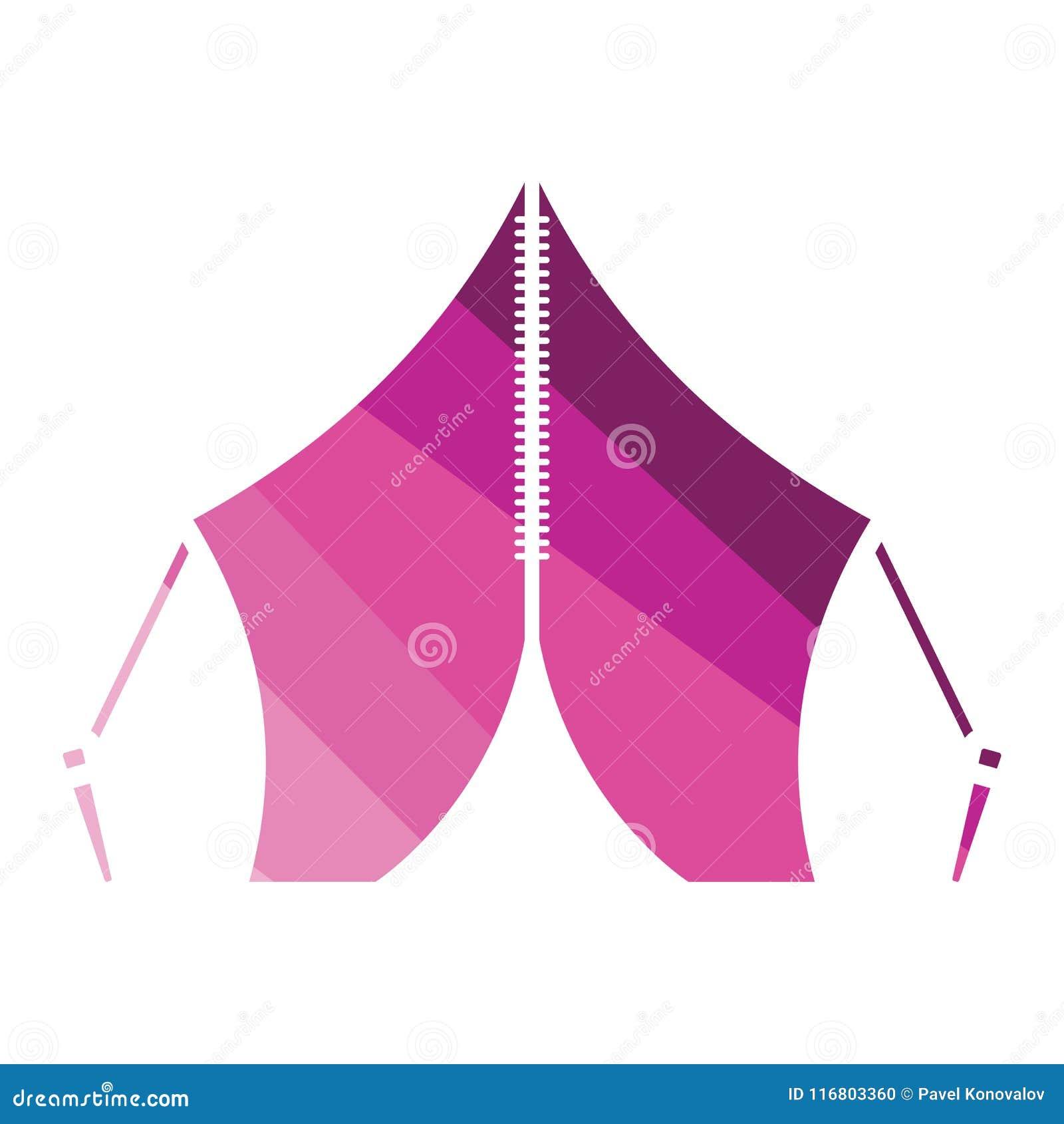 Icona turistica della tenda