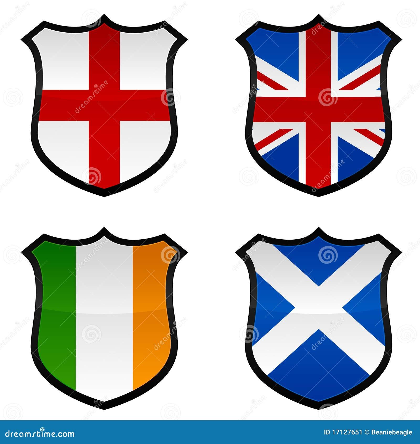 Icone britanniche dello schermo immagine stock immagine for Portico dello schermo prefabbricato