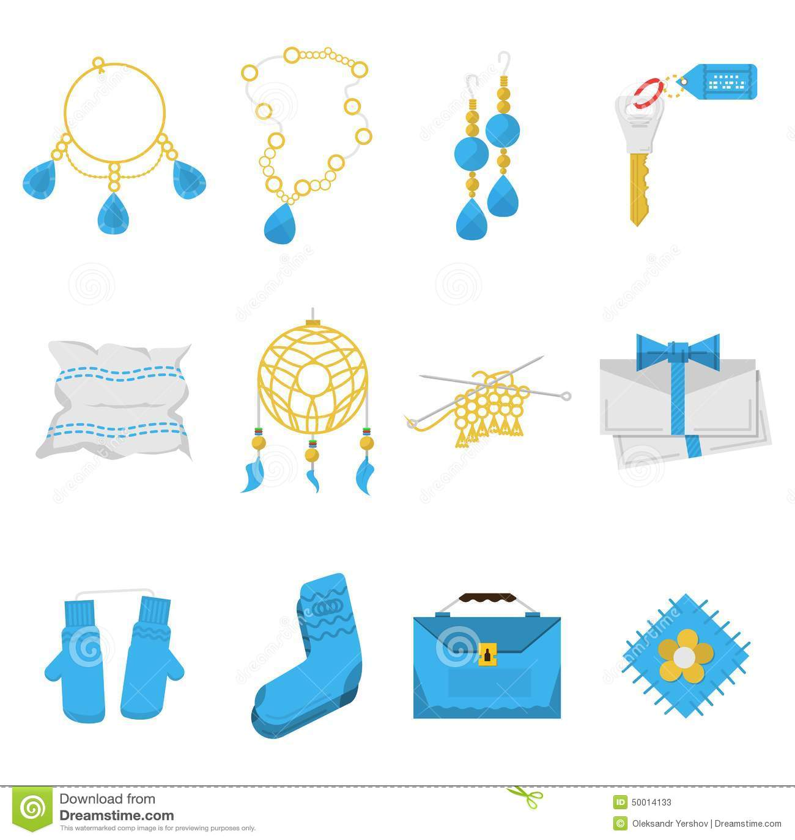 Icone colorate per gli oggetti fatti a mano immagine stock for Programmi per progettare oggetti