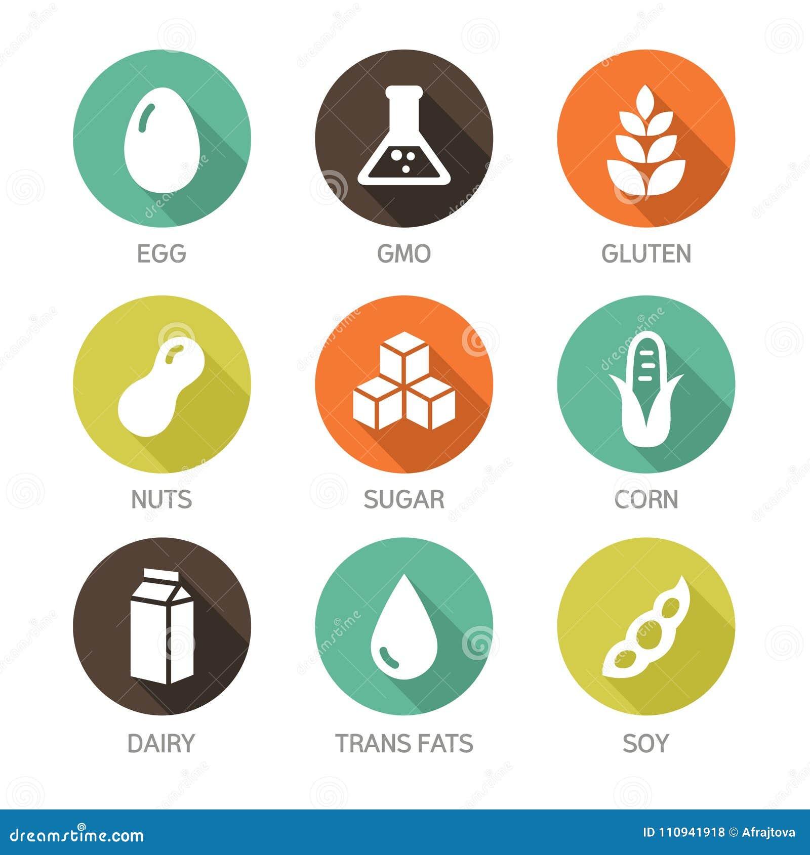 simboli allergeni
