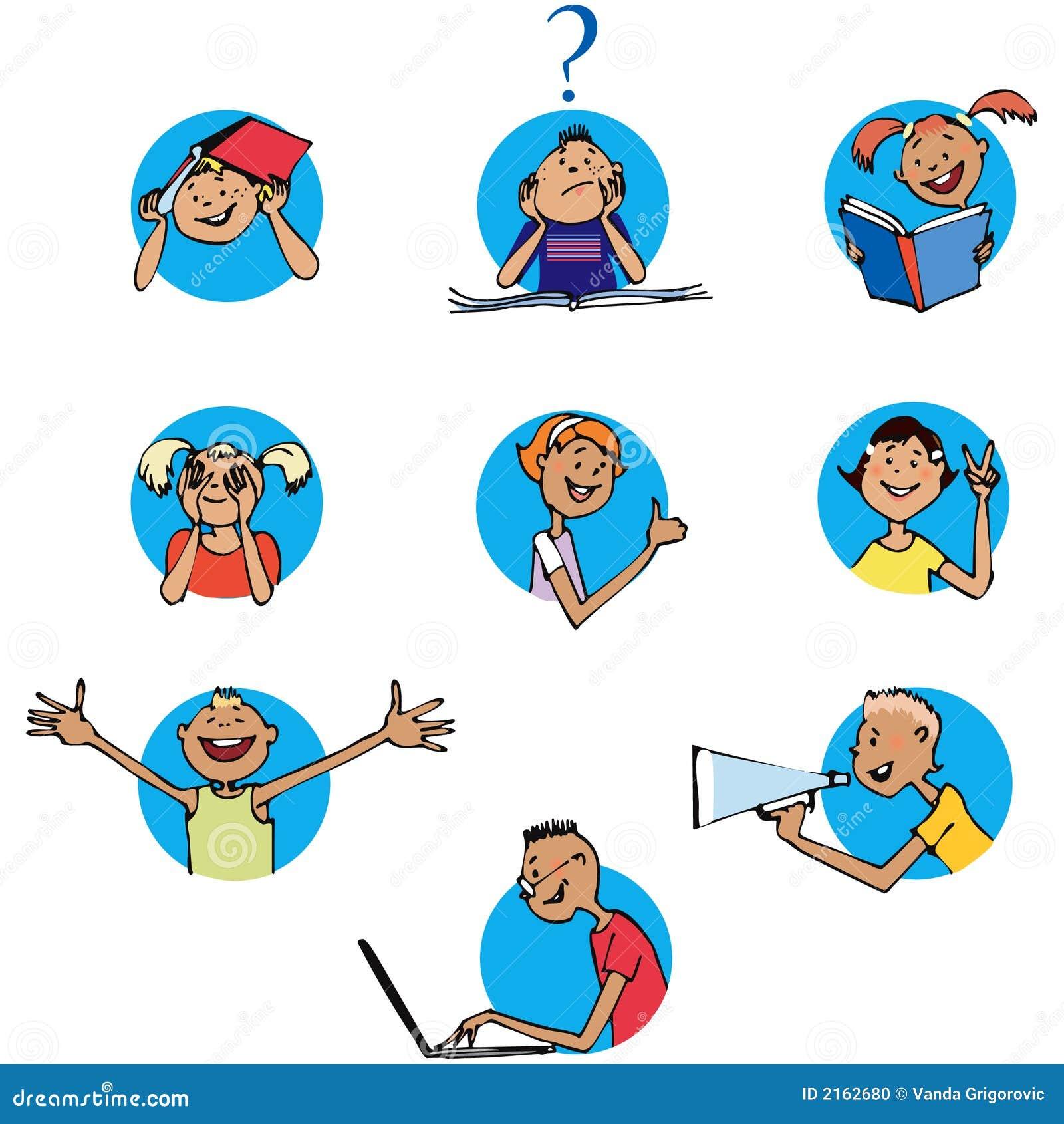 Icone degli scolari