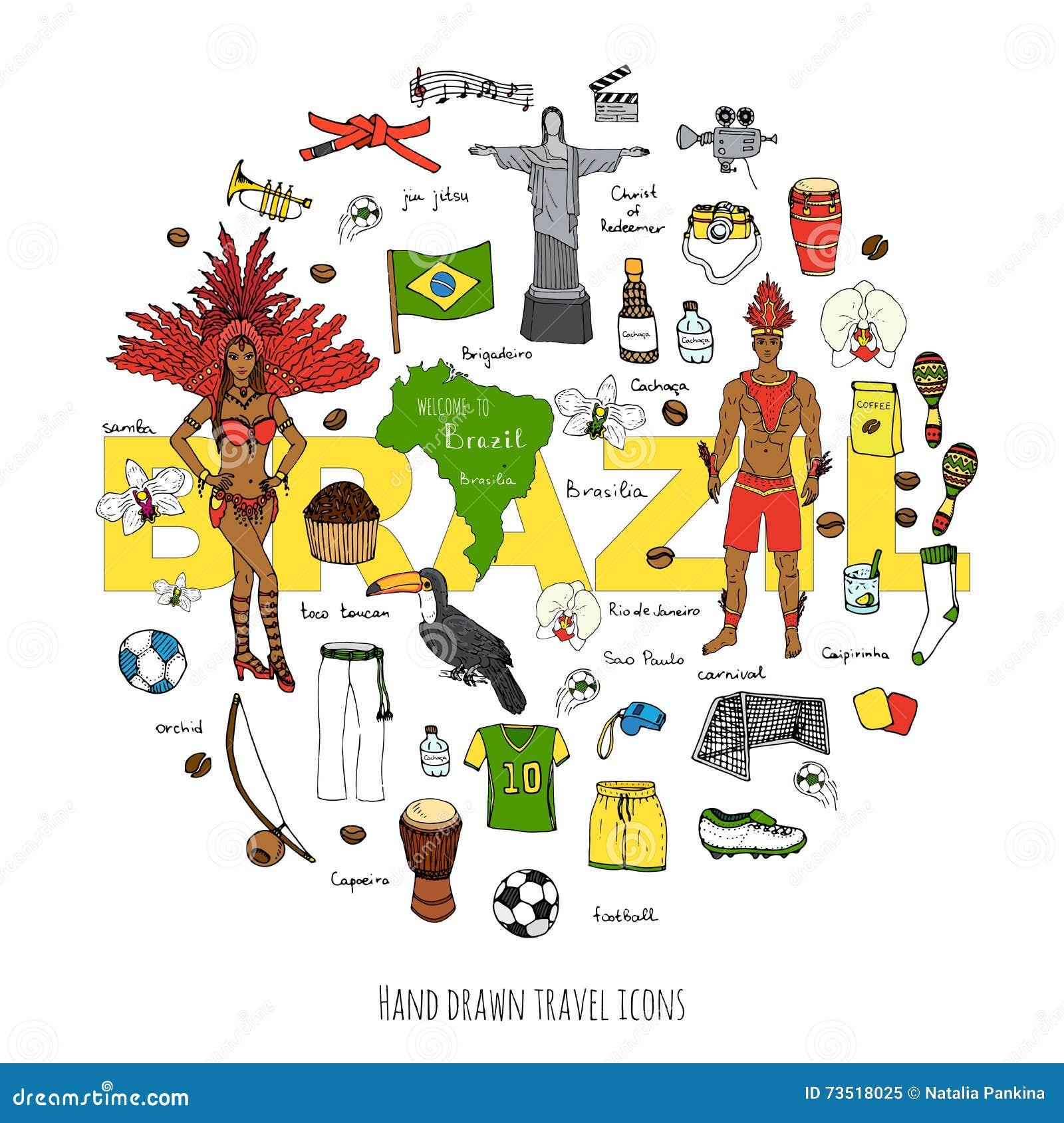 Icone del Brasile messe