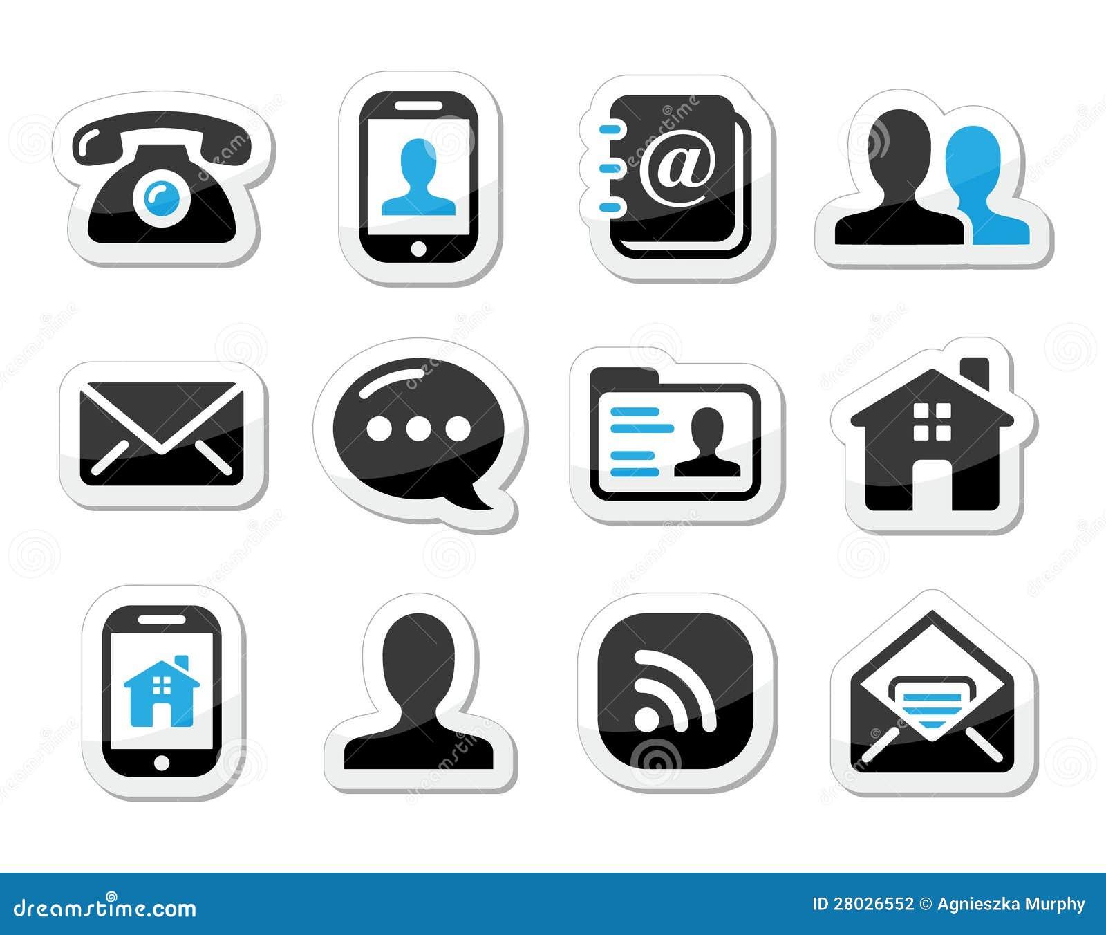 Icone del contatto impostate come contrassegni cellulare for Telefono oficina de correos
