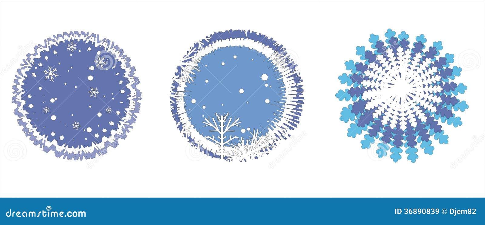 Download Icone del fiocco di neve illustrazione vettoriale. Illustrazione di celebrazione - 36890839