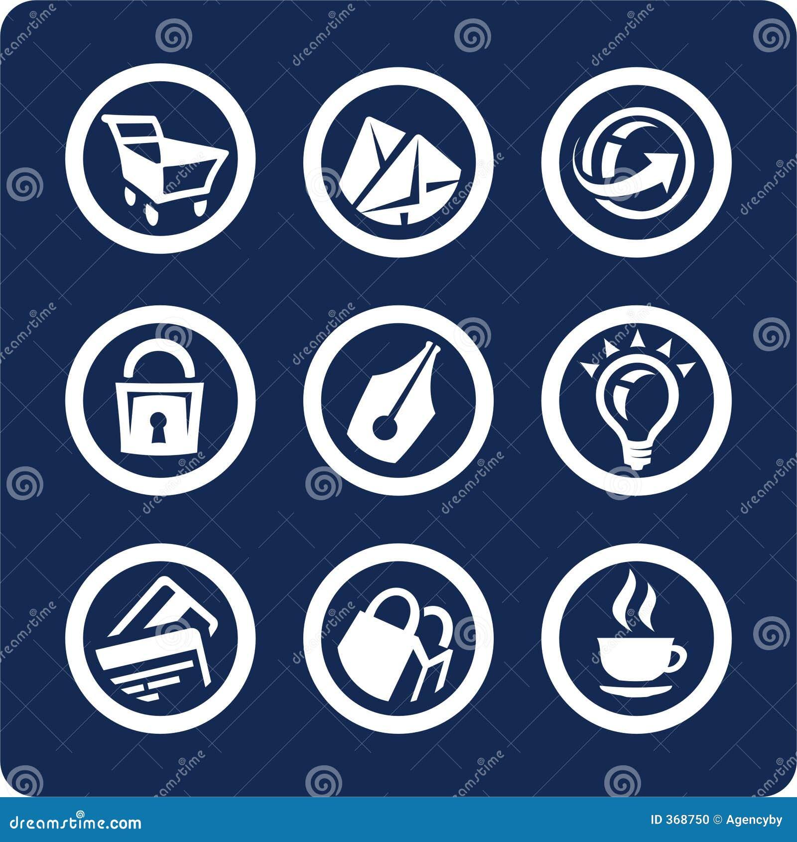 Icone del Internet e di Web site (imposti 2, la parte 2)