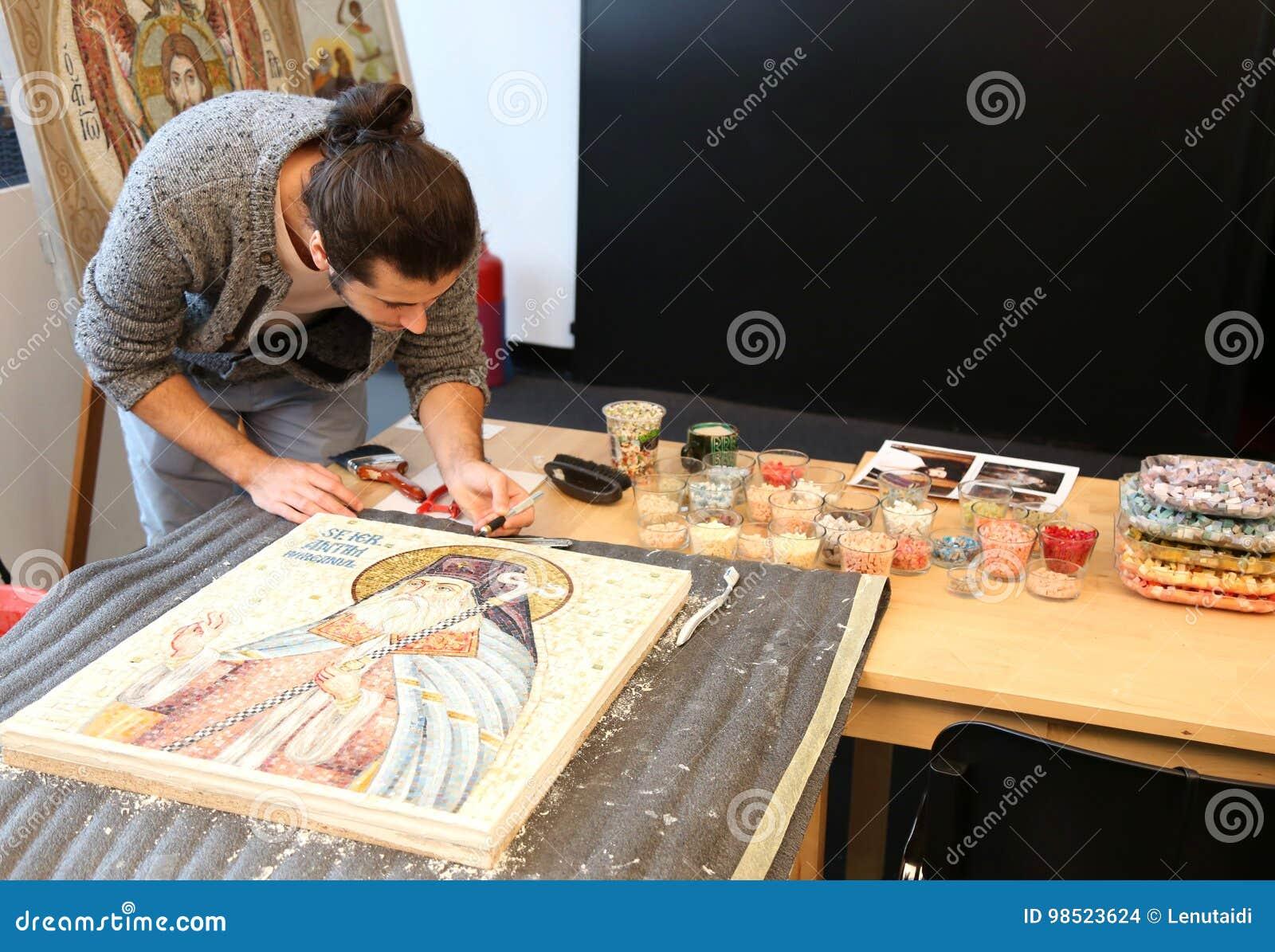 Icone dell intarsio