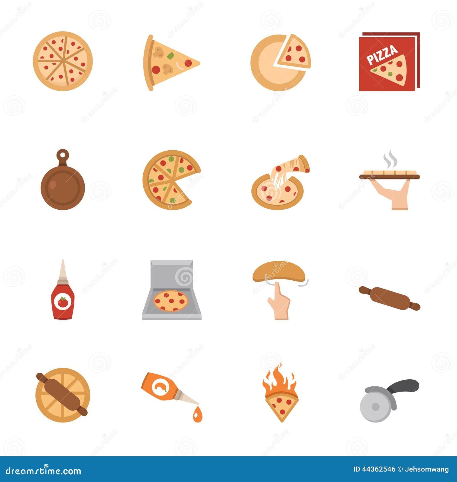 Icone della pizza