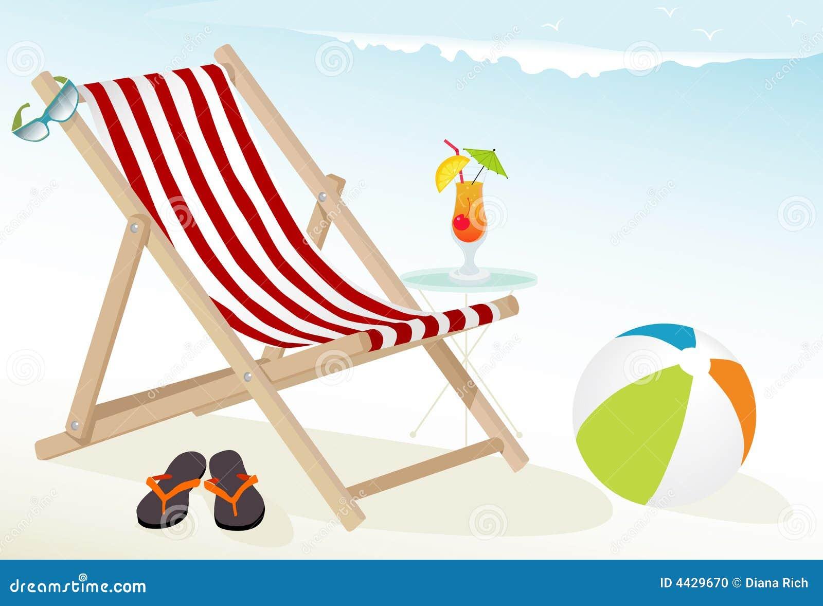 Icone di divertimento della spiaggia