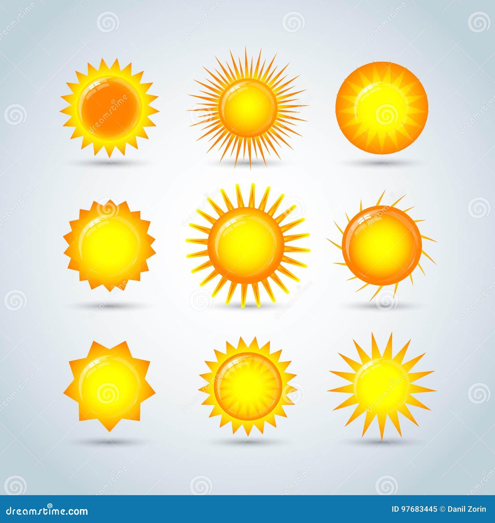 Icone di logo della stella di esplosione solare Esponga al sole la stella, l estate, la natura, il cielo, l estate Logo del sole
