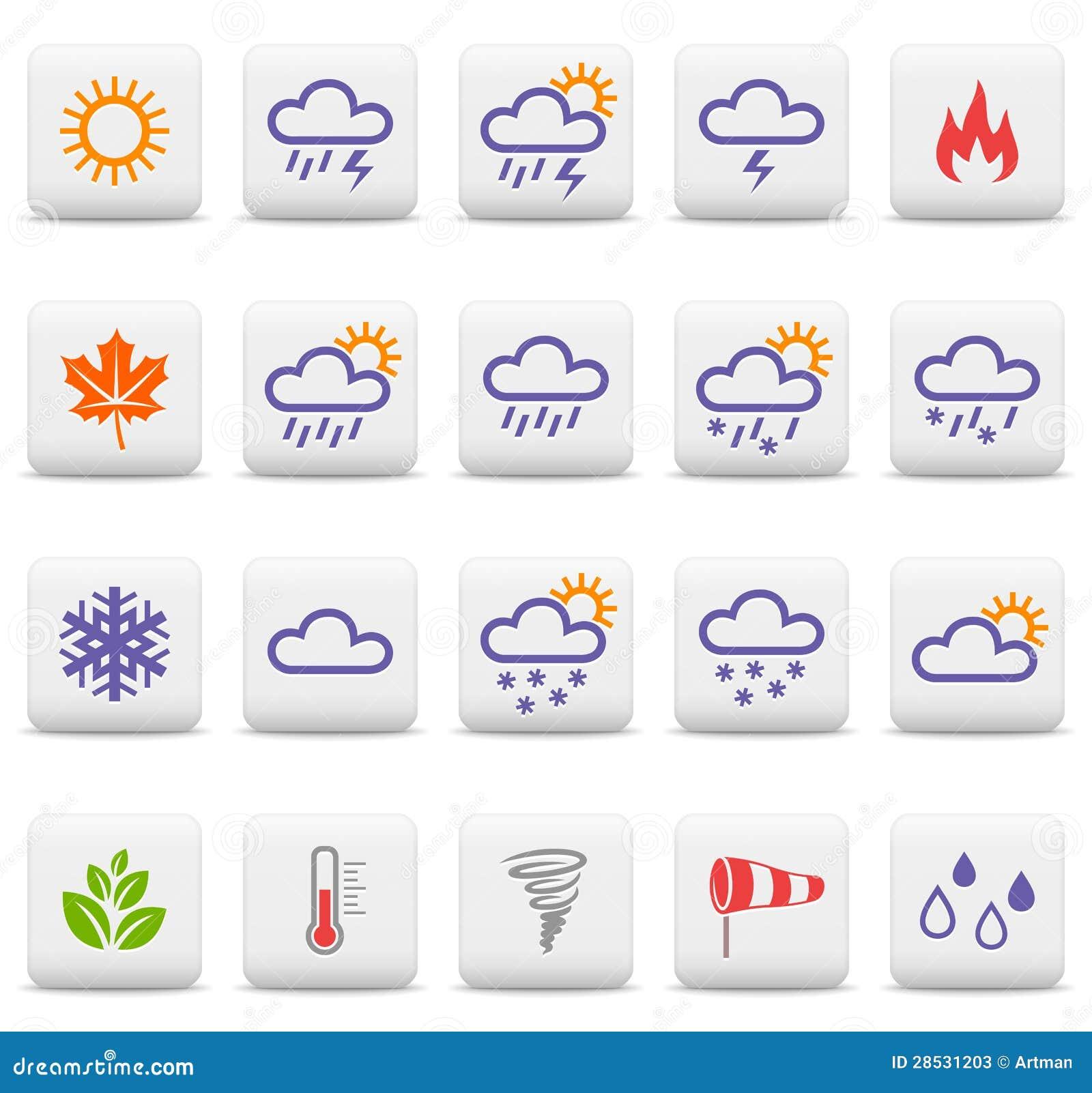 Icone di stagioni e del tempo