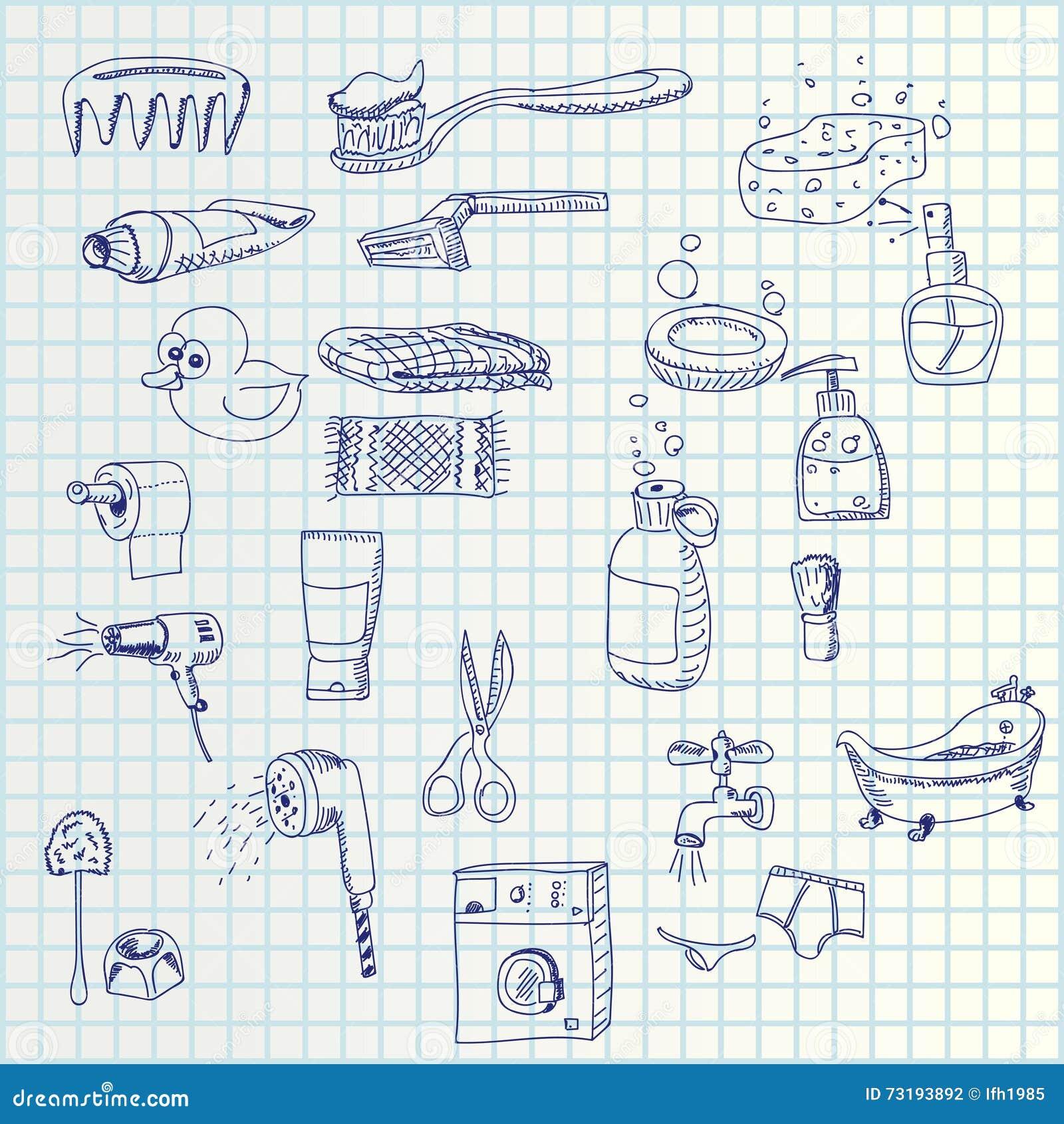 Icone di tiraggio della mano