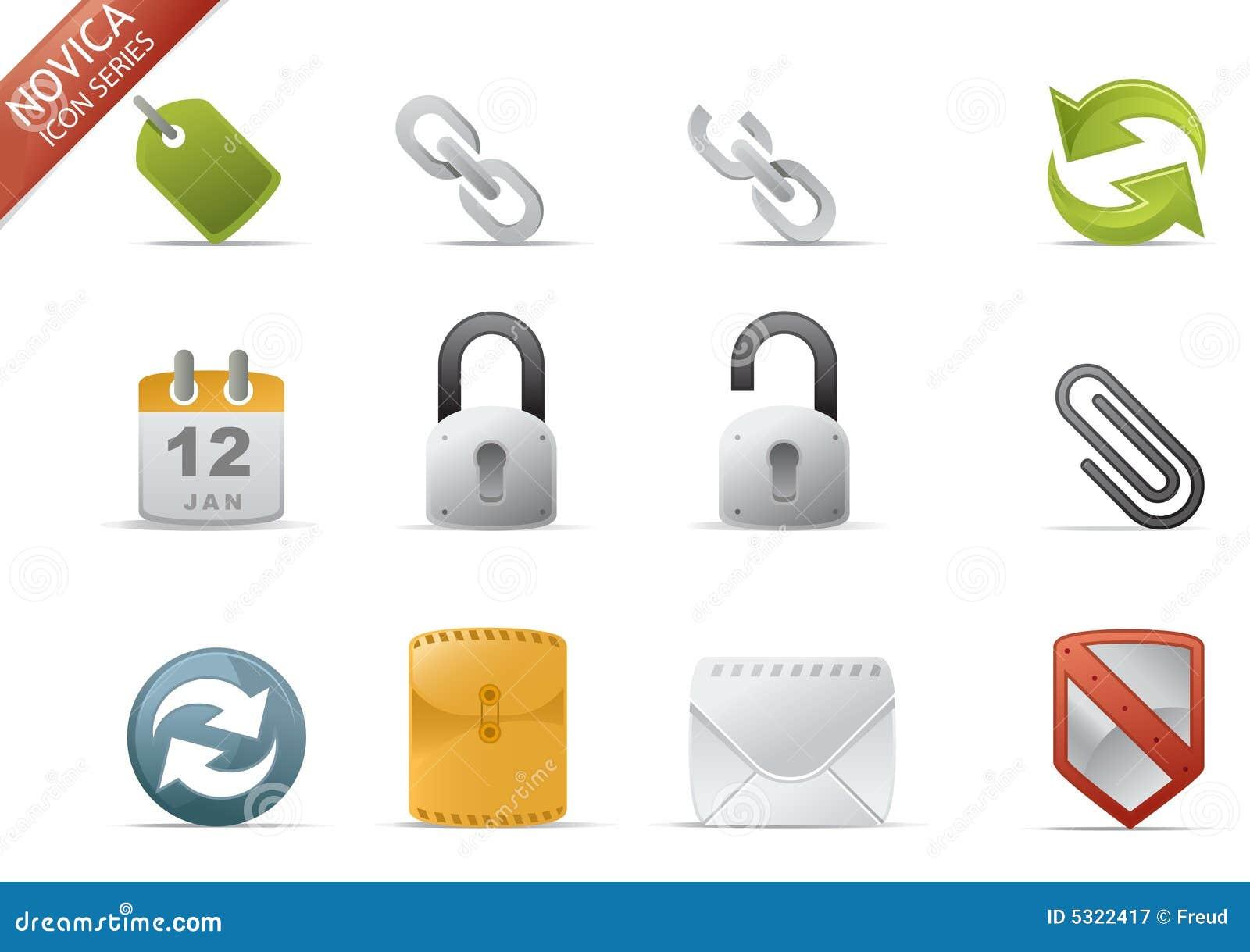 Download Icone Di Web - Serie #2 Di Novica Illustrazione Vettoriale - Illustrazione di folder, carta: 5322417