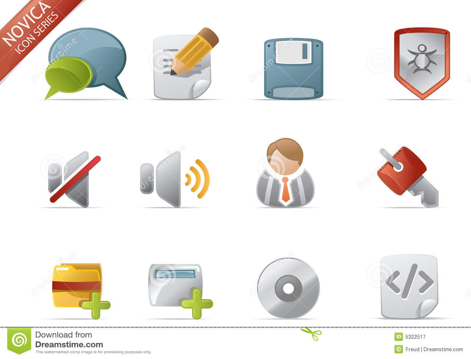 Icone di Web - serie #4 di Novica