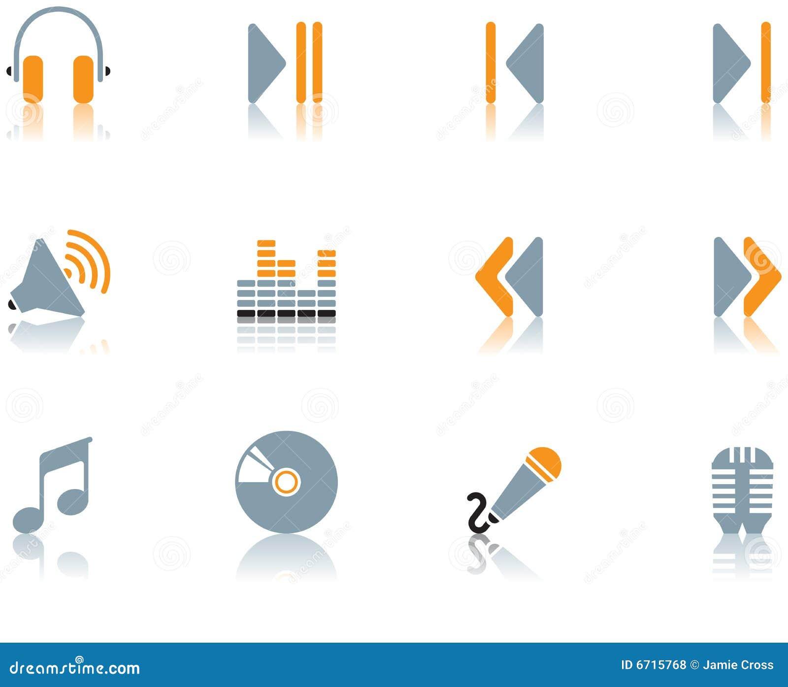 Icone - la musica ha impostato 3