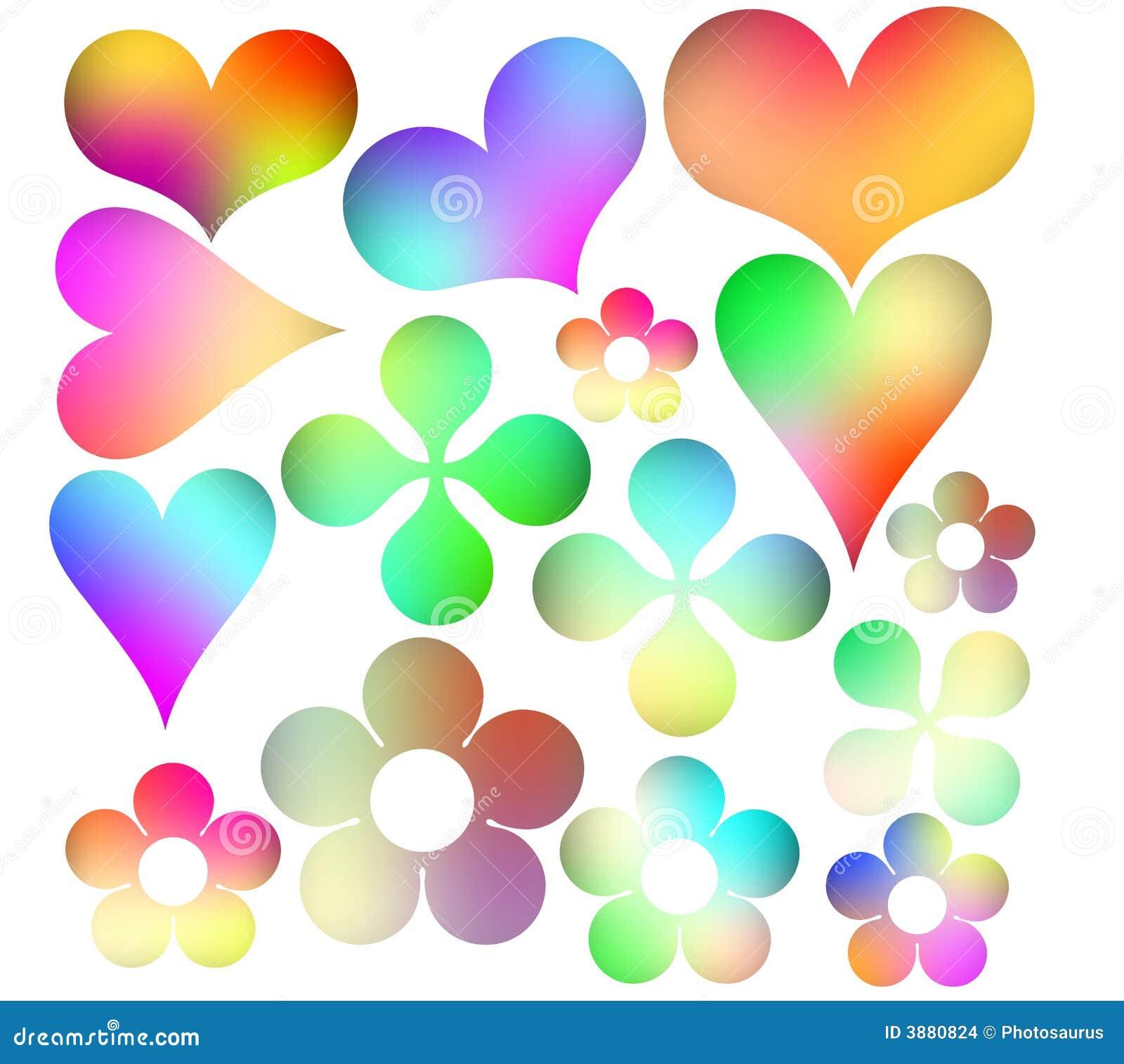Icone multicolori