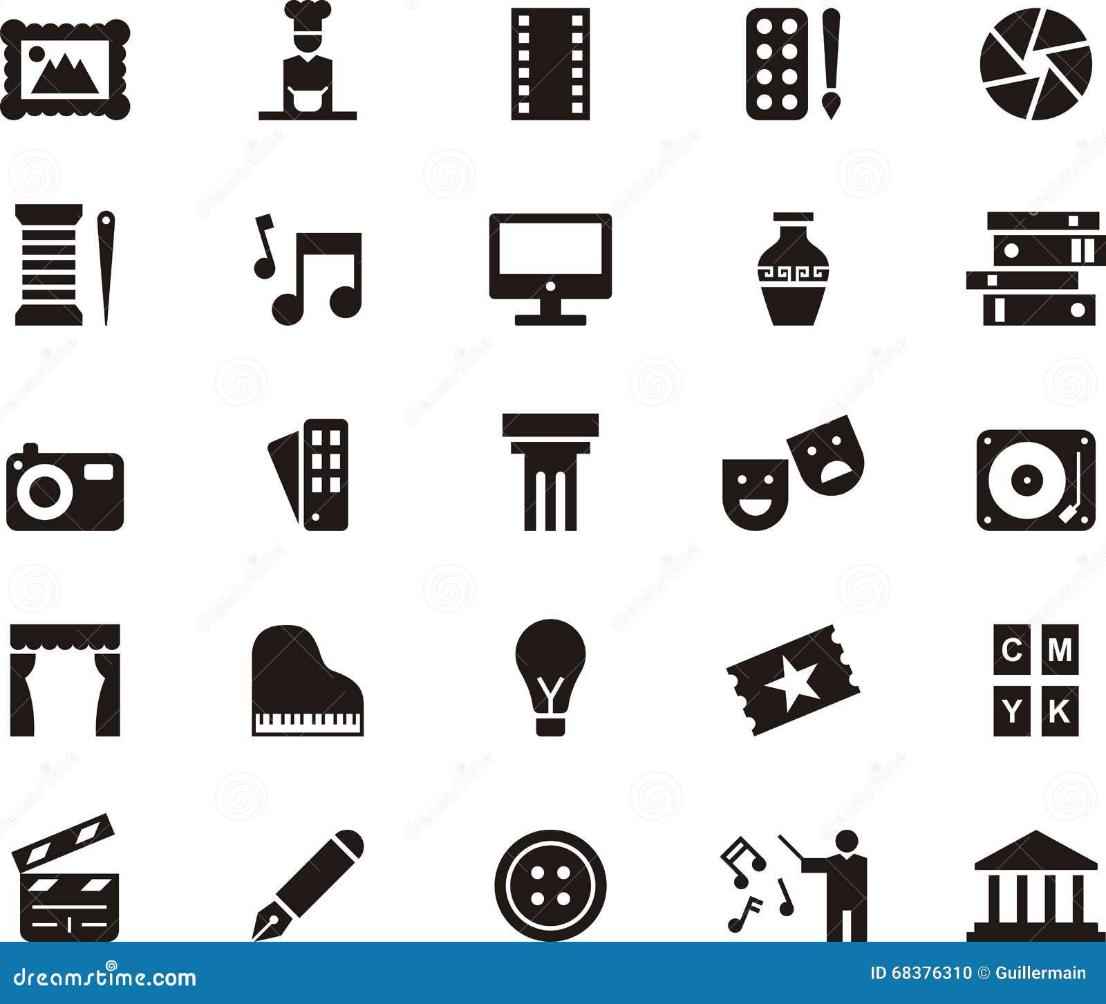 Icone per le arti
