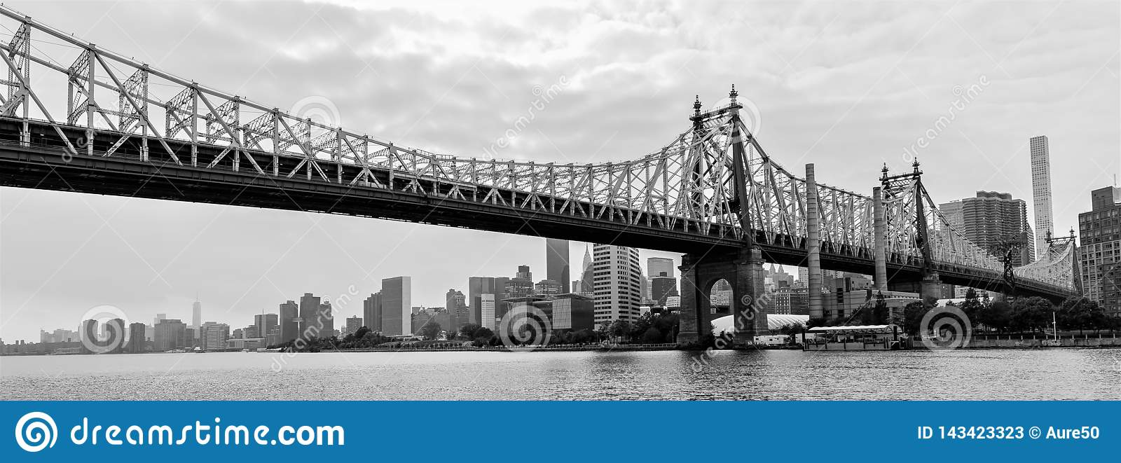 Ed Koch Queensboro Bridge from the Queens, New York City, USA