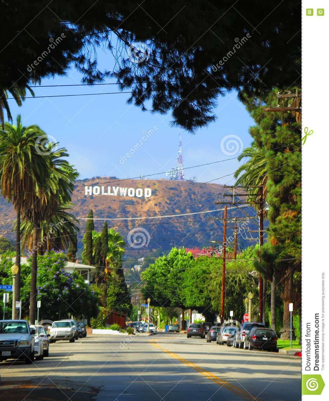 Iconic Hollywood Sign Of Los Angeles California Editorial Photo Image Of Iconic Vocation 78569506