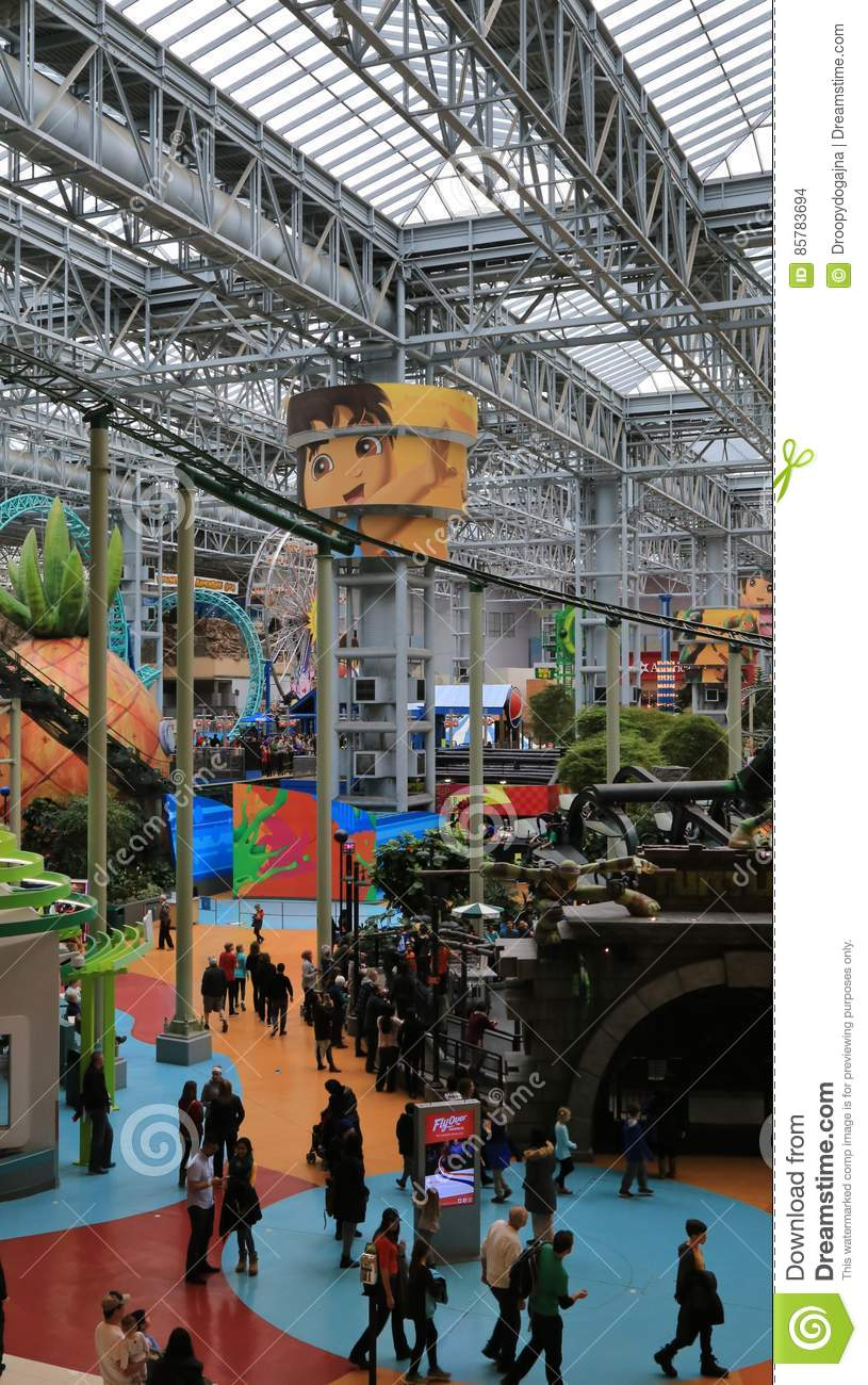 The Iconic Mall Of America Bloomington Minnesota USA Editorial - Largest mall in usa