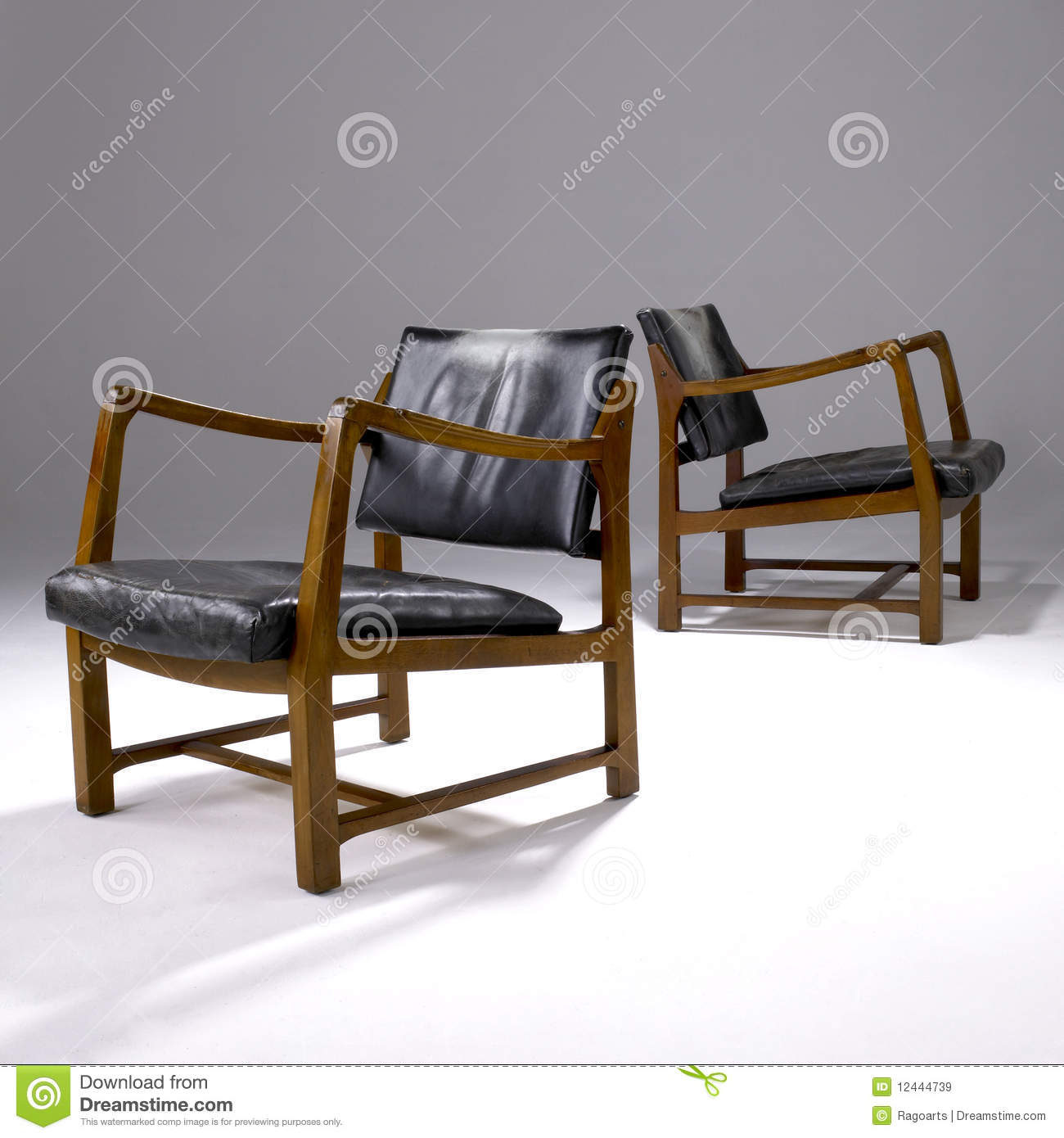 Iconic Modern Design Chairs Editorial Stock Image Image